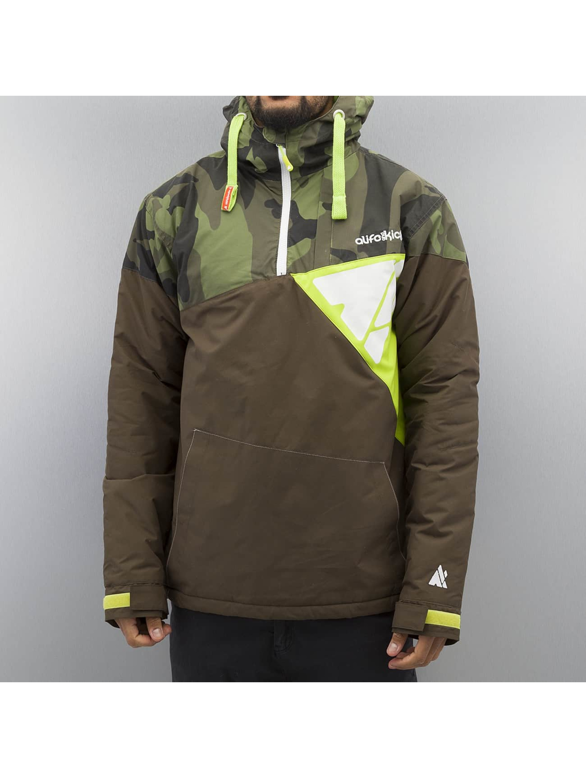 Alife Kickin Mr. Vader Winter Jacket Olive Camo Lime