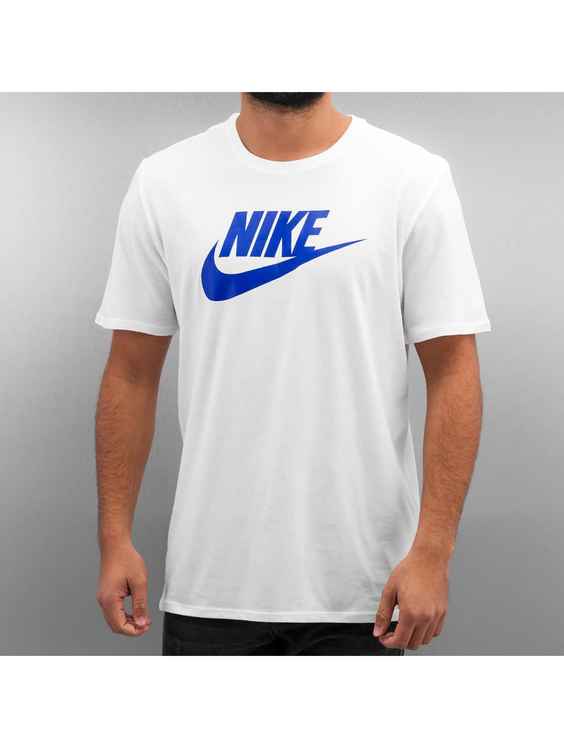 Nike Futura Icon T-Shirt White/White/Game Royal