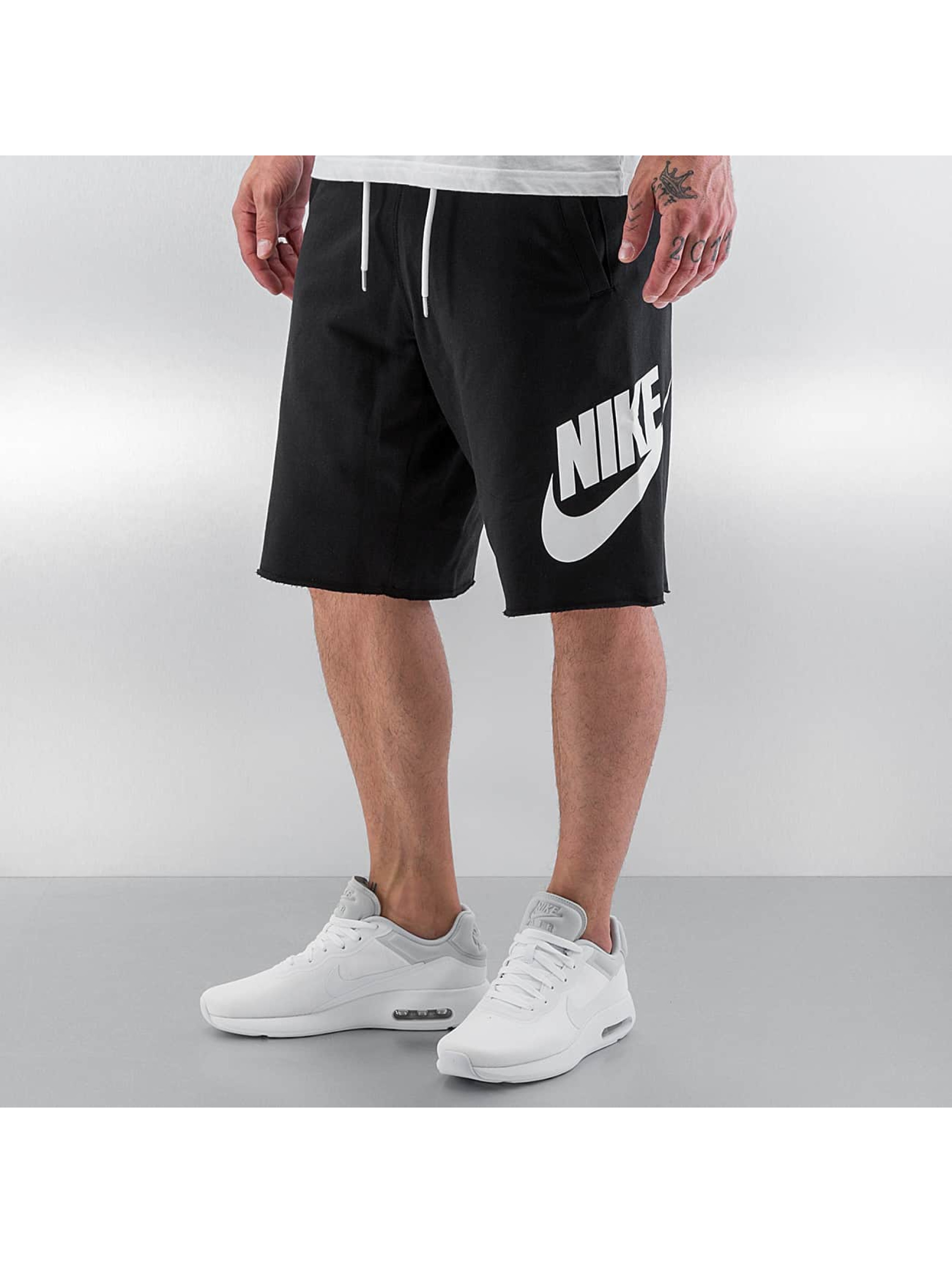 Nike NSW FT GX Shorts Black/White Sale Angebote Ruhland