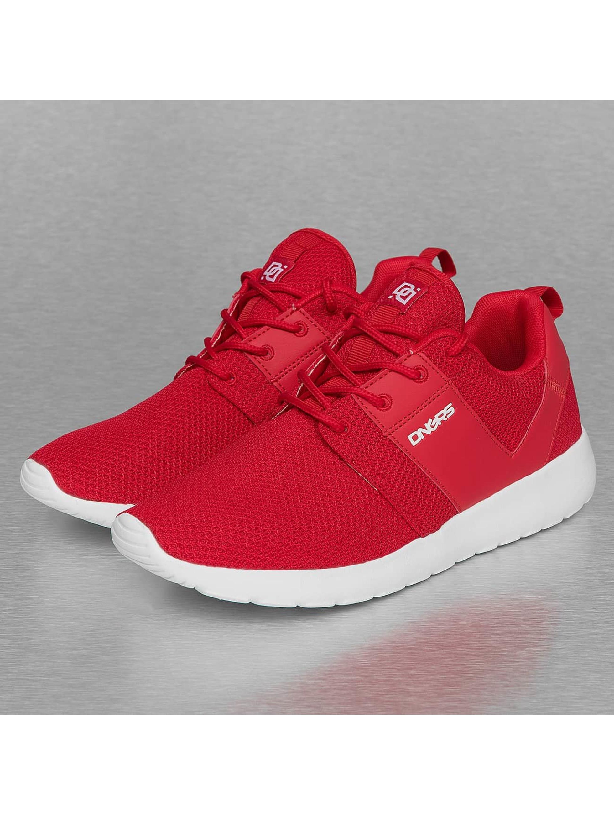 Dangerous DNGRS / Sneakers Mesh in red 43