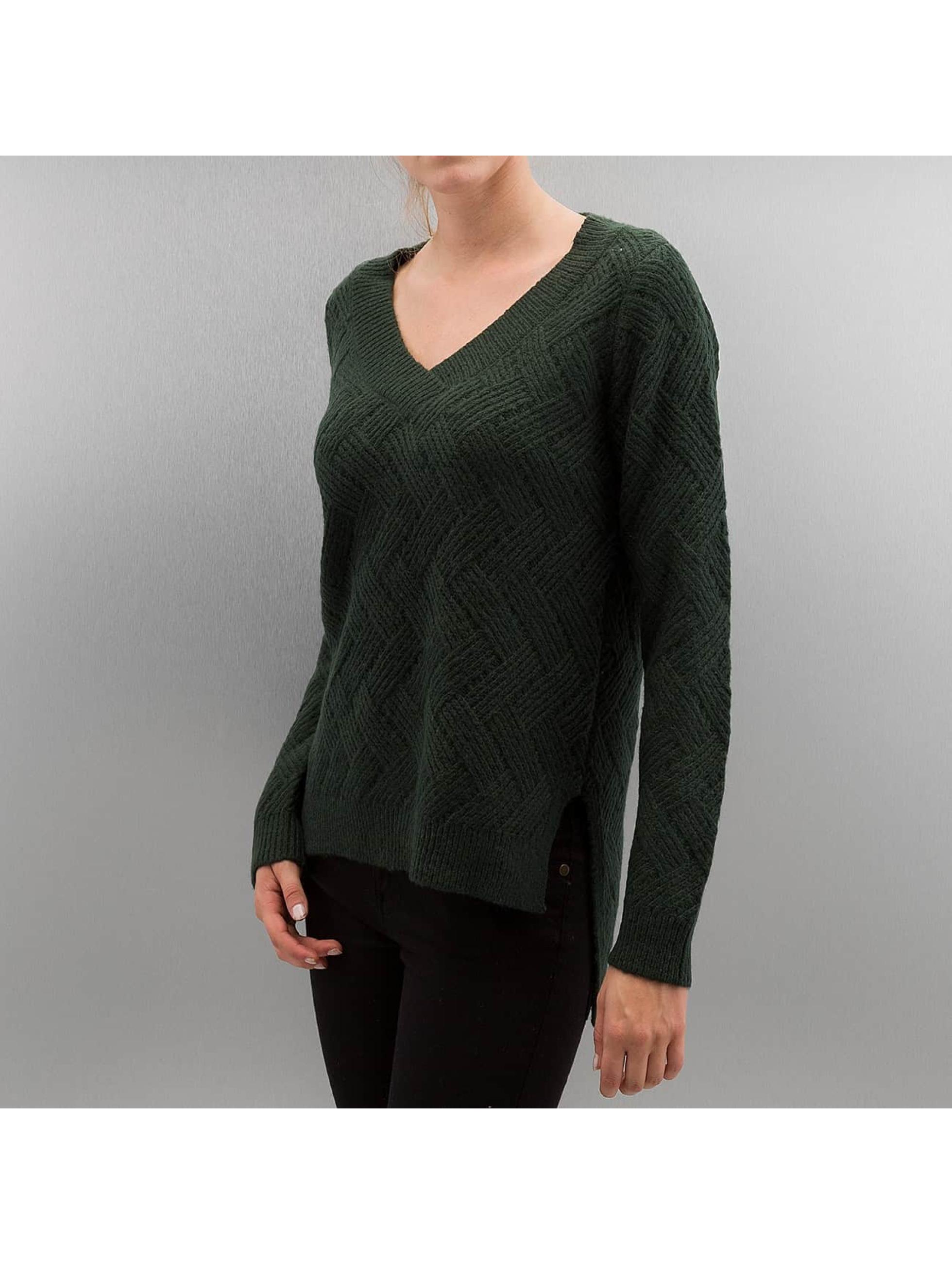 Only Frauen Pullover onlBretagne in grün