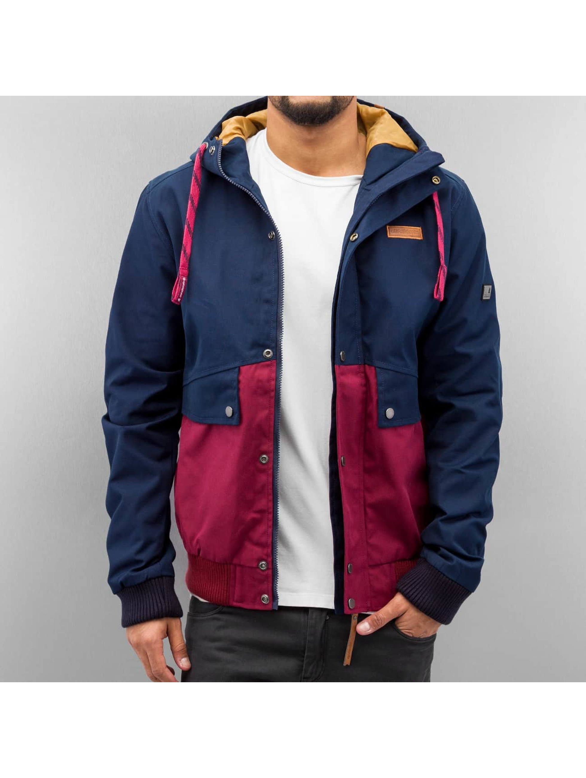 Alife Kickin Tom Jacket Marine Burgundy