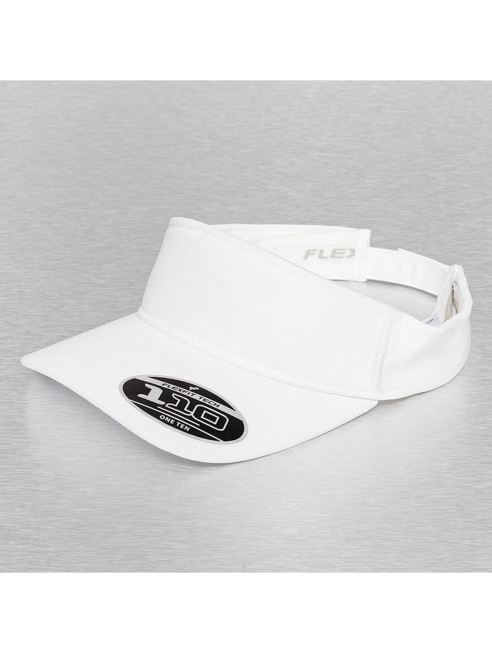 Flexfit Männer,Frauen Snapback Cap Visor in weiß
