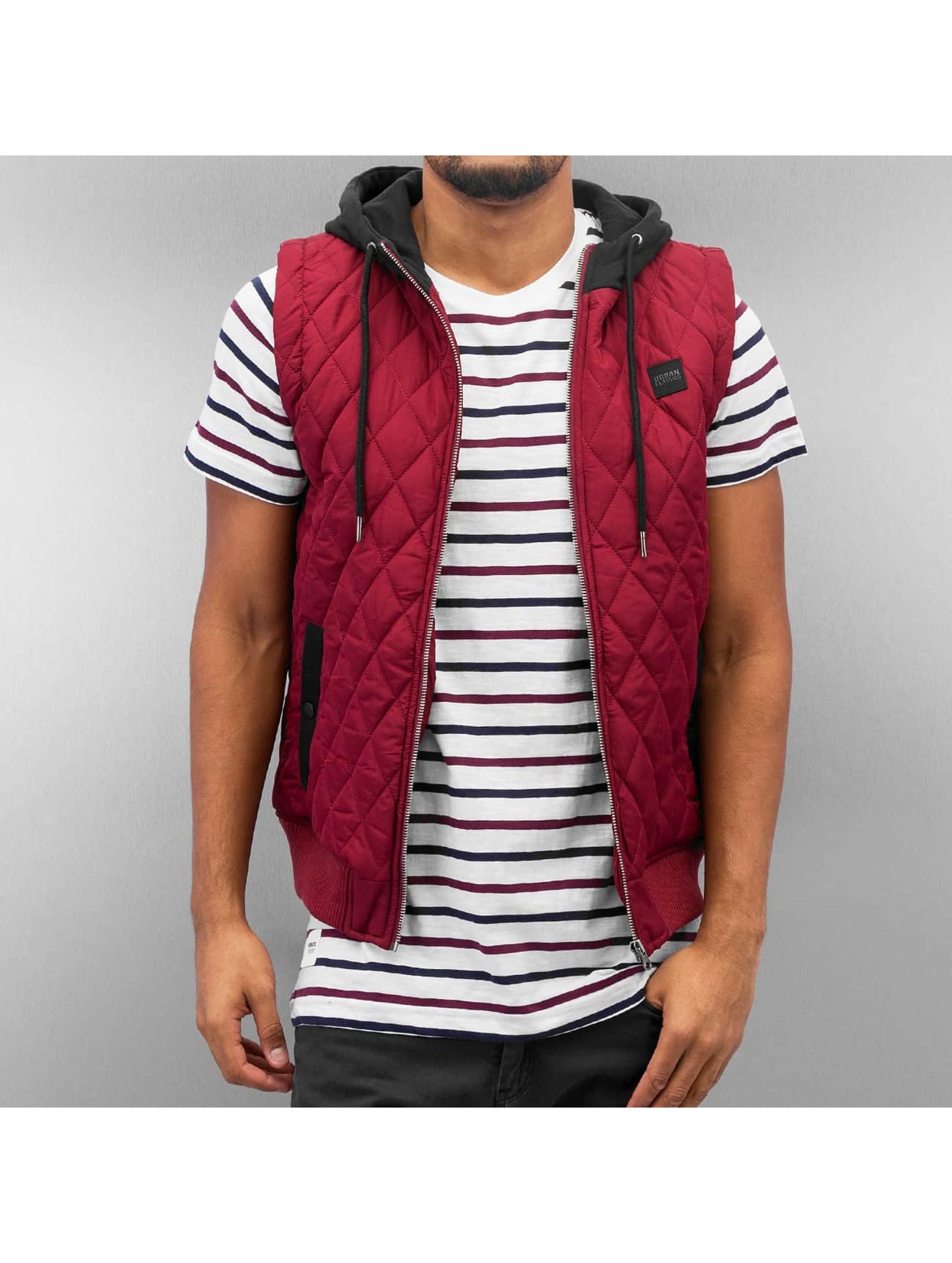 Urban Classics Bodywarmer Diamond Quilted rood