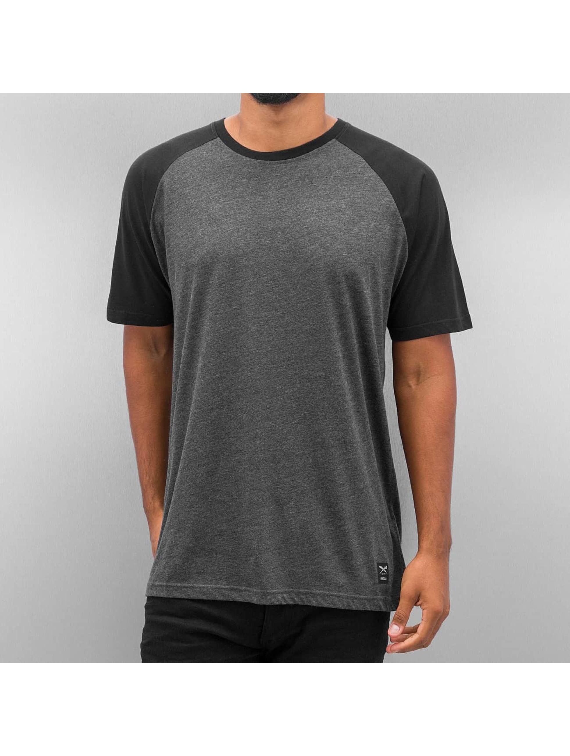Iriedaily Männer T-Shirt Rugged in schwarz