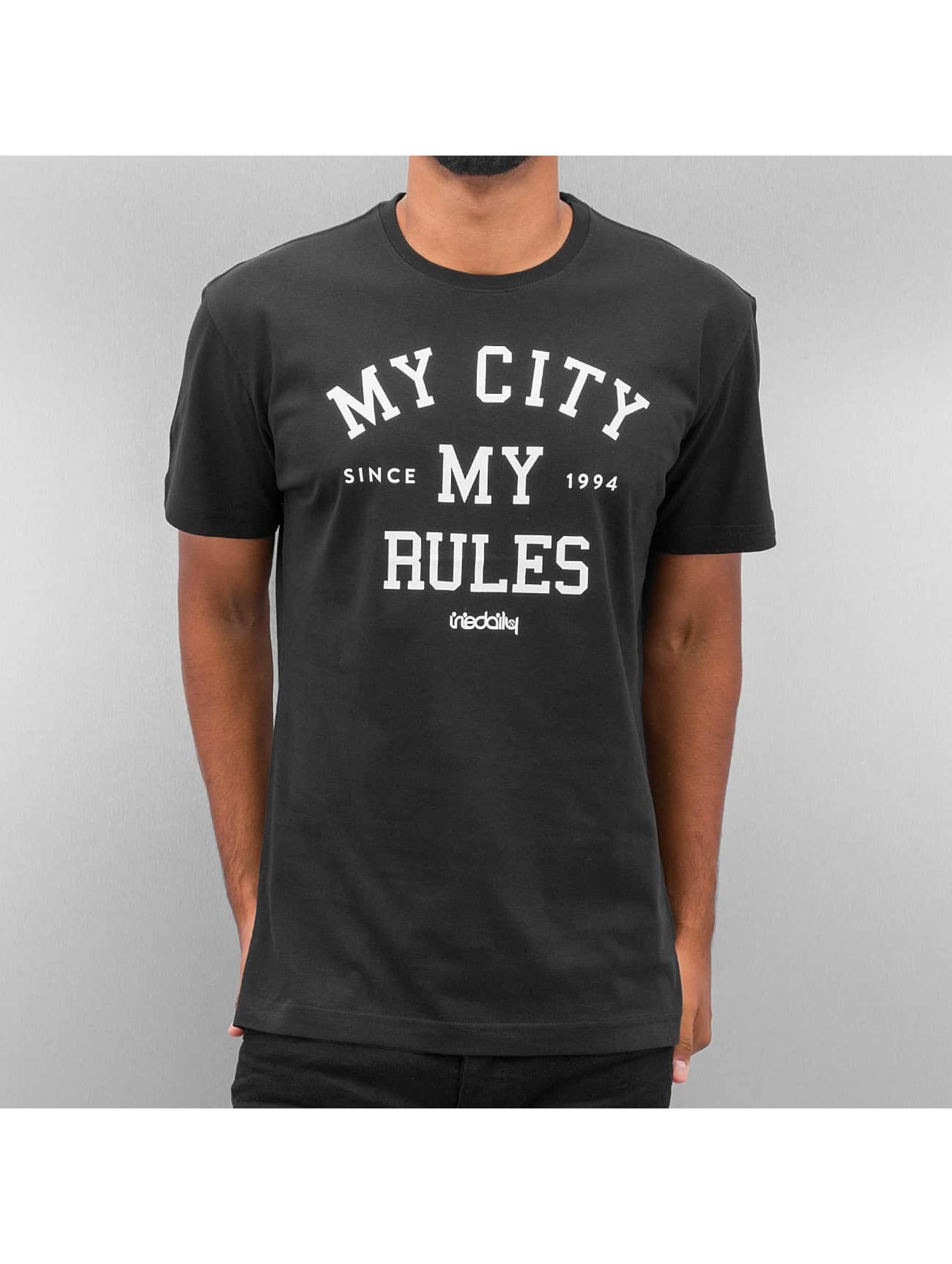 Iriedaily Männer T-Shirt My City in schwarz