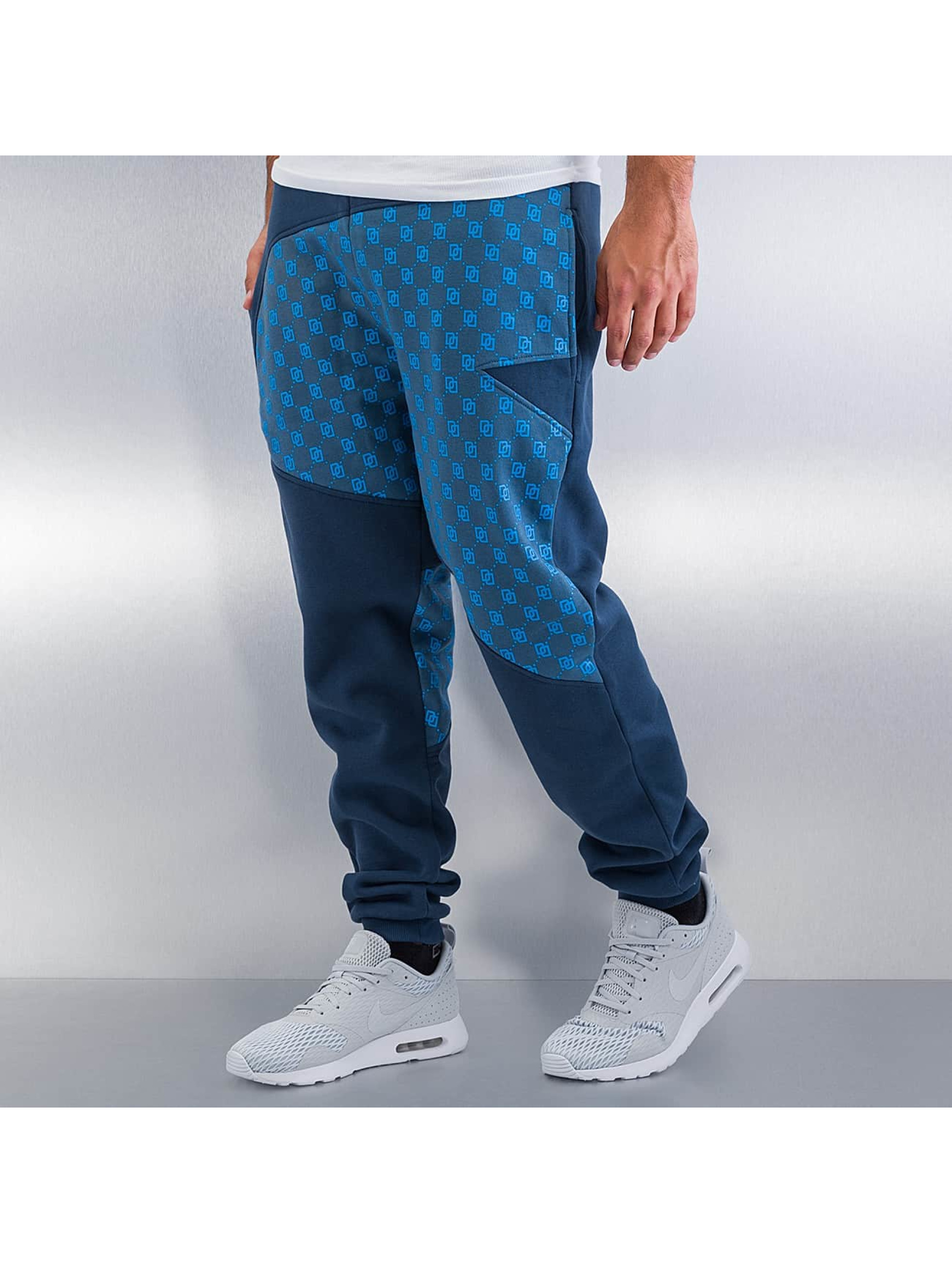 Dangerous DNGRS Small Symbols Sweat Pants Blue