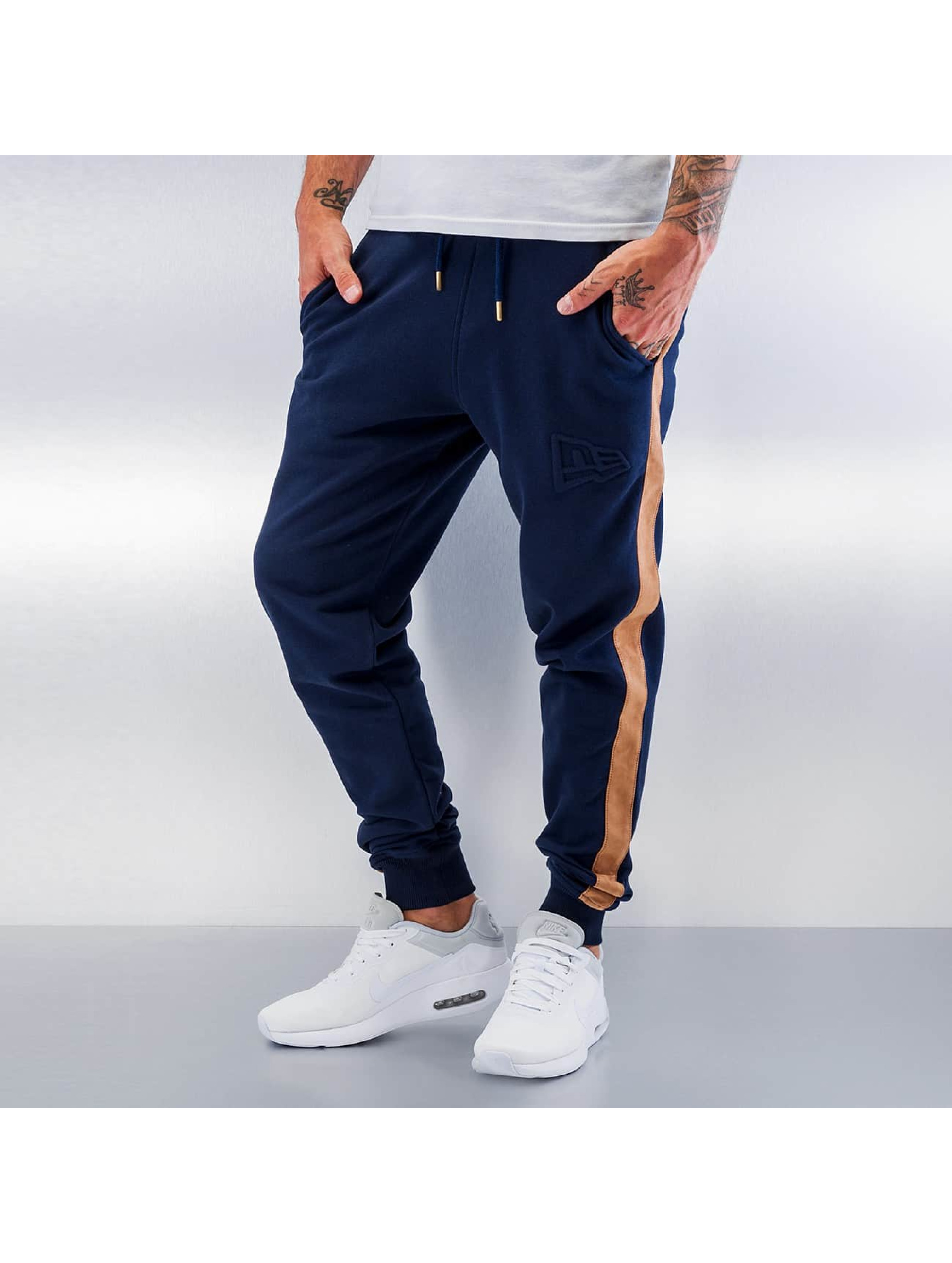 New Era Männer Jogginghose Crafted in blau