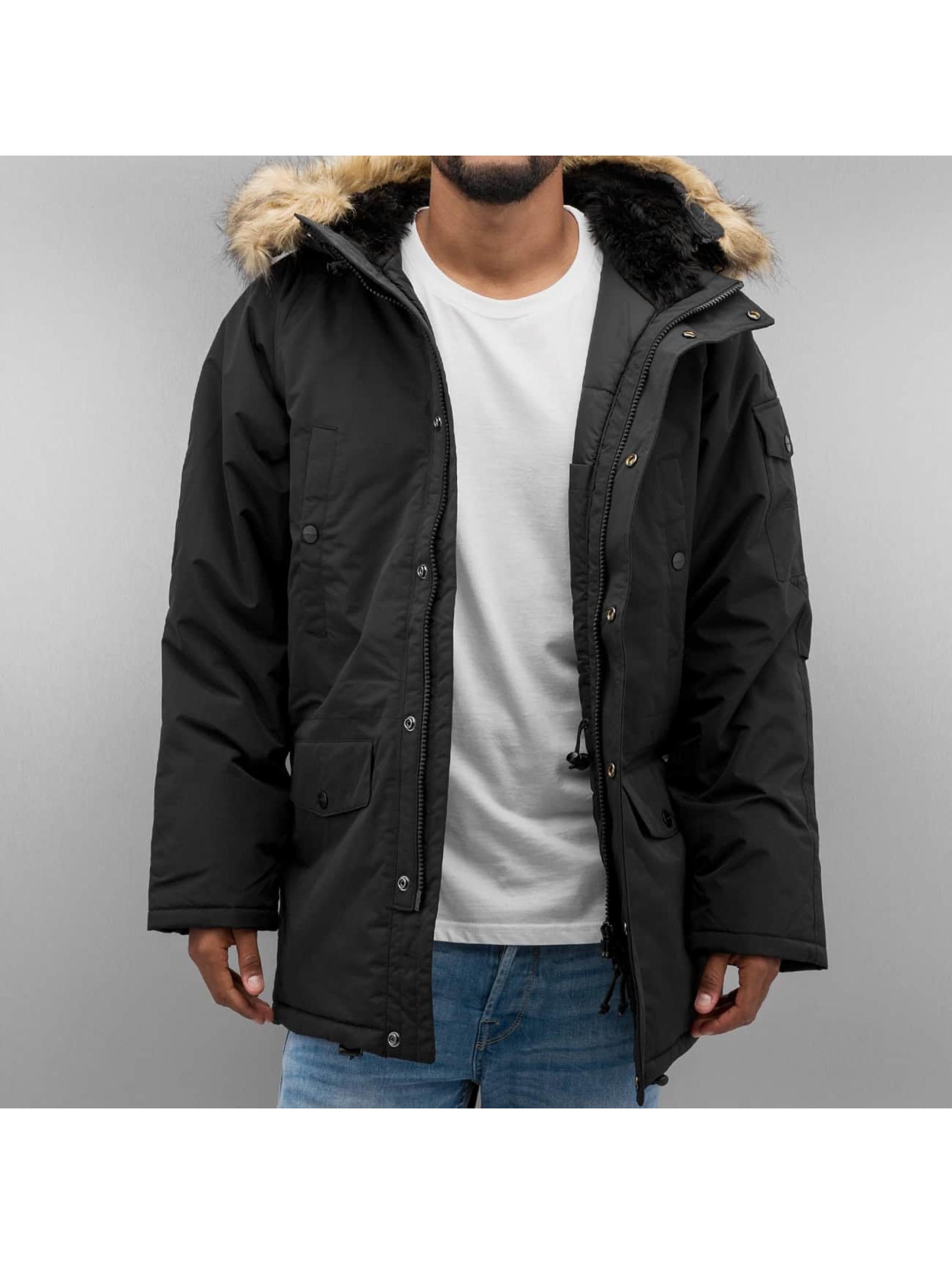 Carhartt WIP Männer Winterjacke Anchorage in schwarz