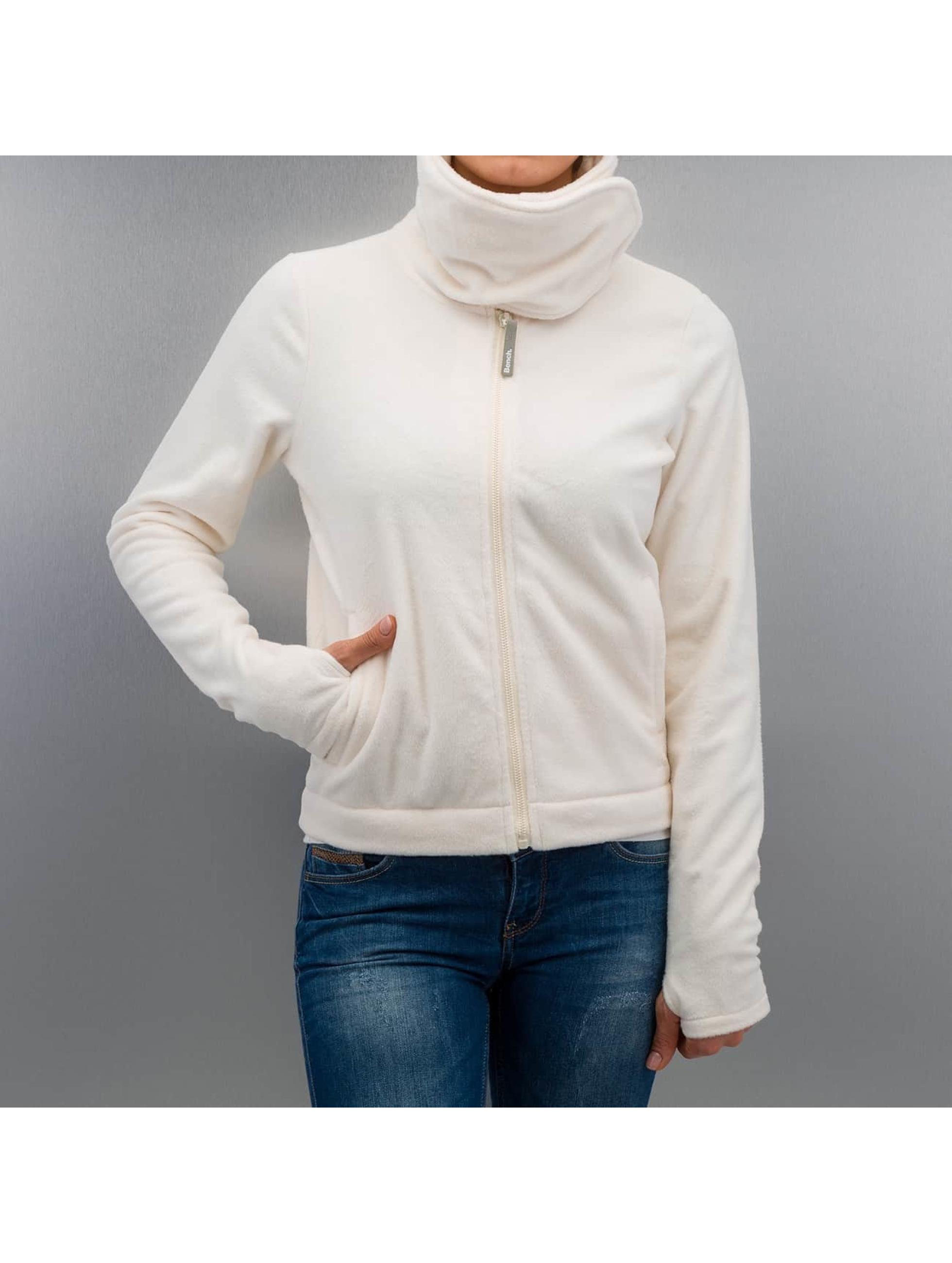 Bench Frauen Übergangsjacke Difference Fleece Jacket in beige