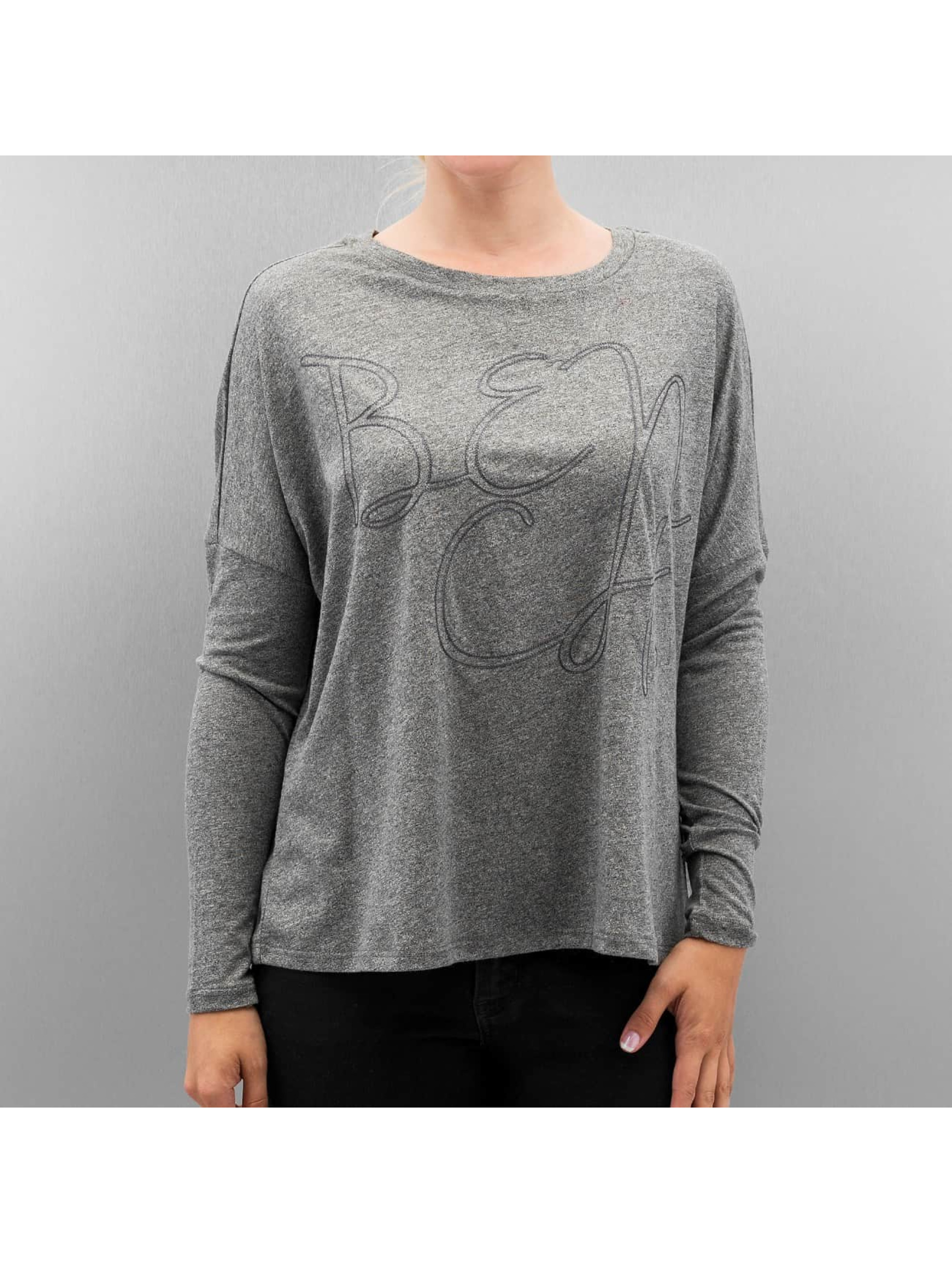 Bench Frauen Pullover Vertebrae in grau