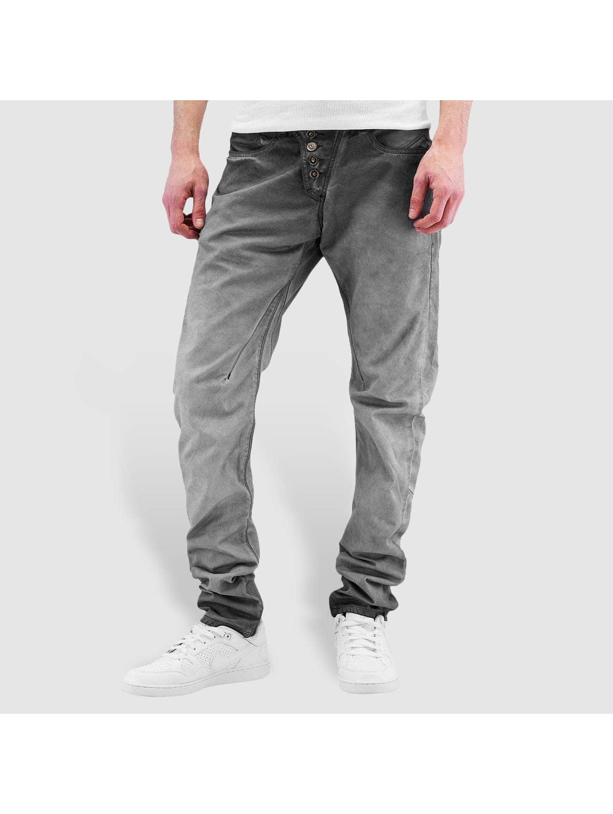Cipo & Baxx Männer Straight Fit Jeans Kemi in grau