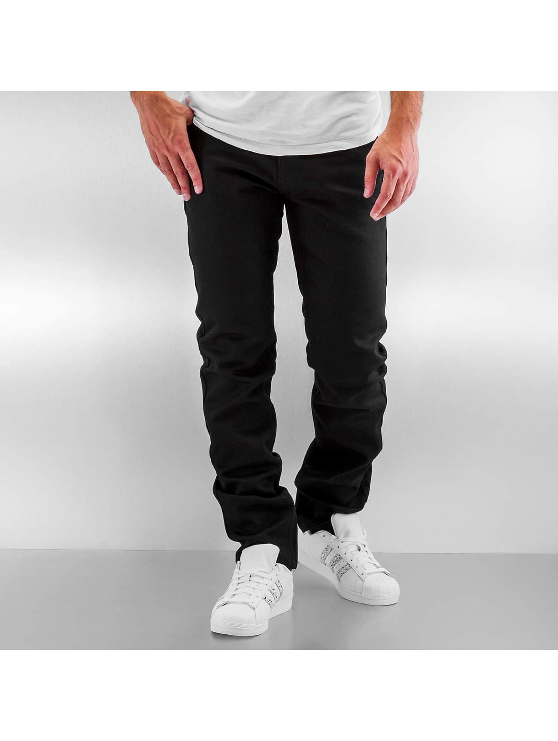 Rocawear / Straight Fit Jeans Relaxed Fit in black W 46