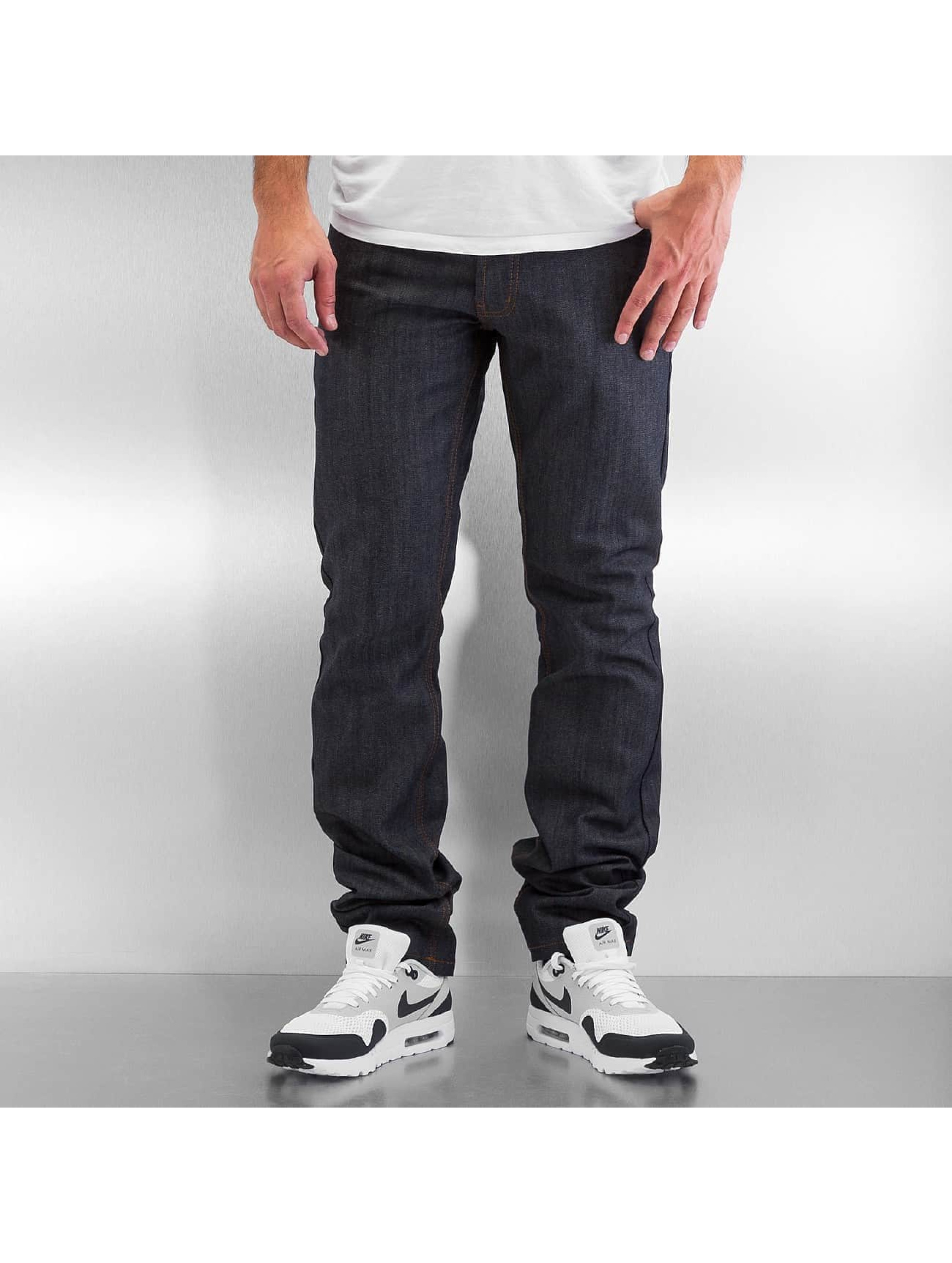 Rocawear / Straight Fit Jeans Relaxed in blue W 42