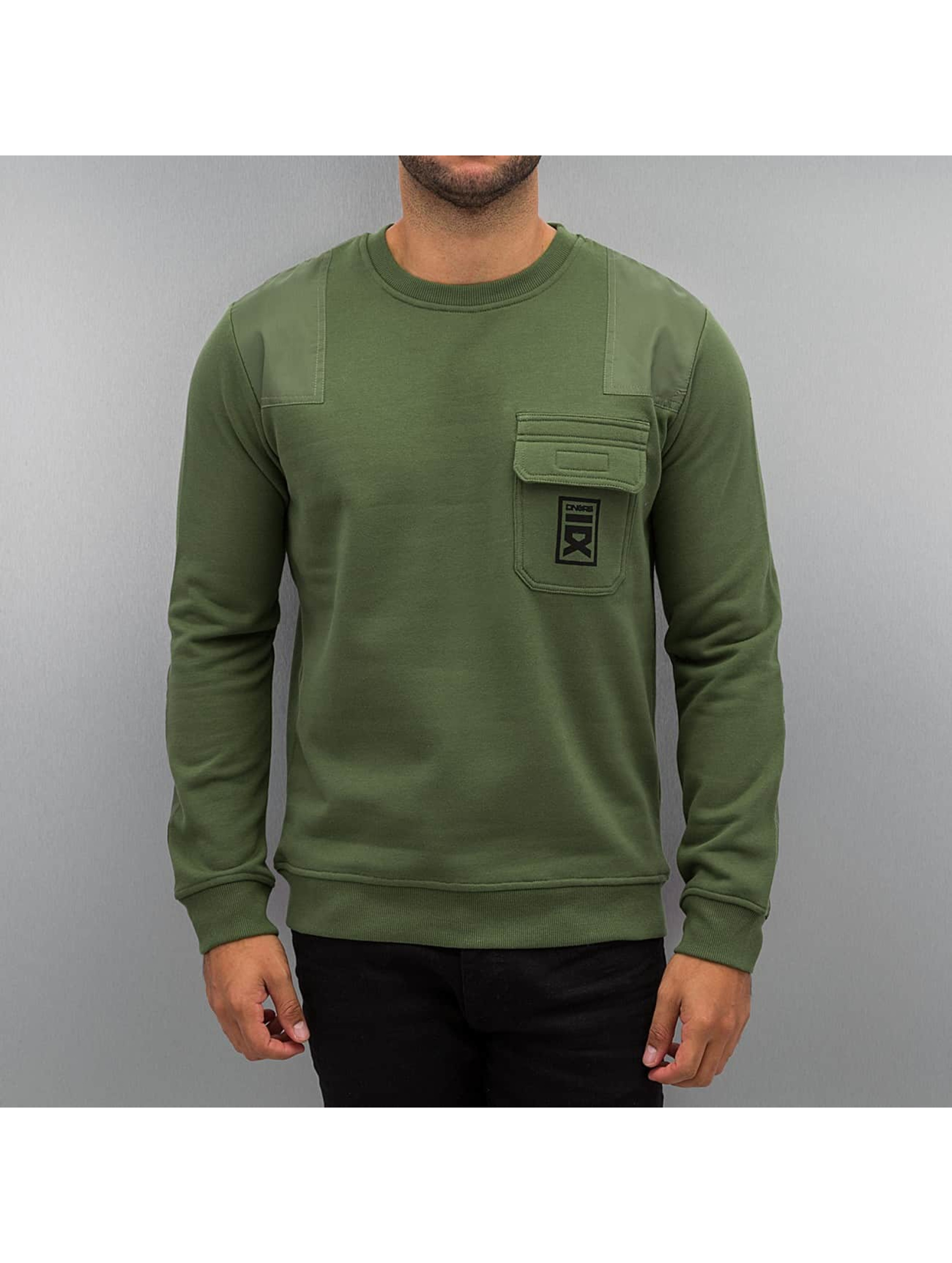 Dangerous DNGRS Männer Pullover Military in olive