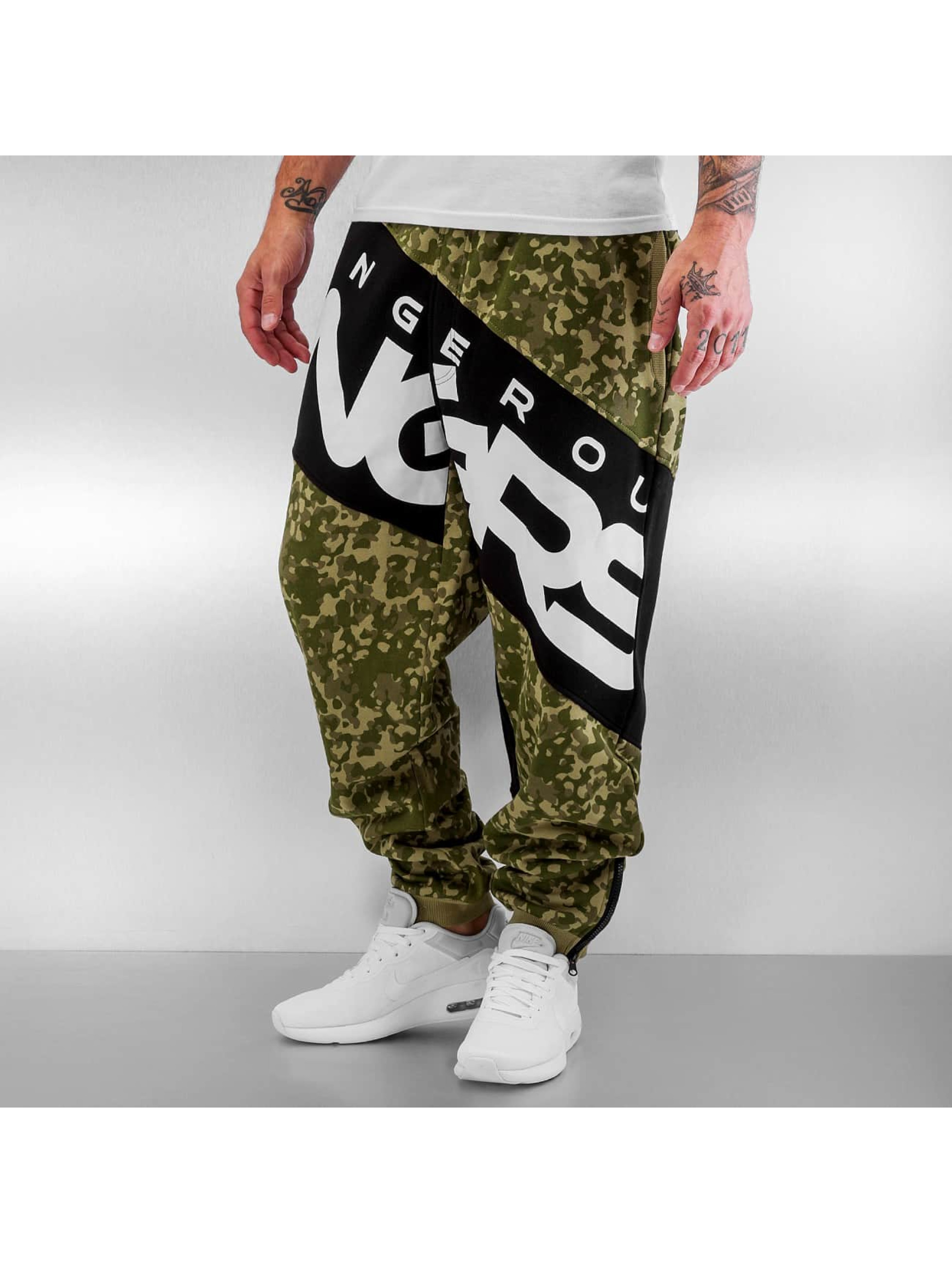 Dangerous DNGRS / Sweat Pant Toco in camouflage L