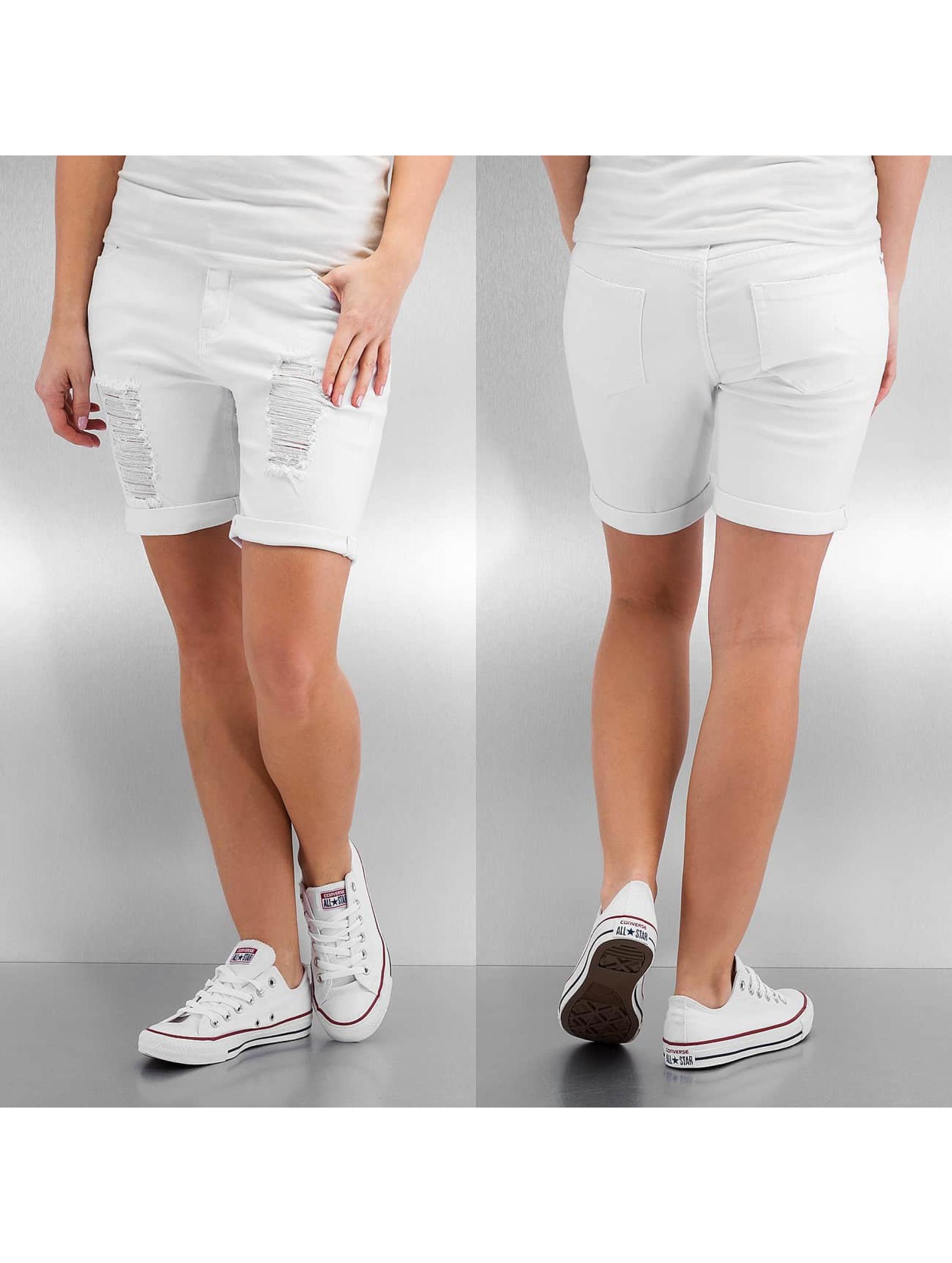 Fresh Made Frauen Shorts Klara in weiß