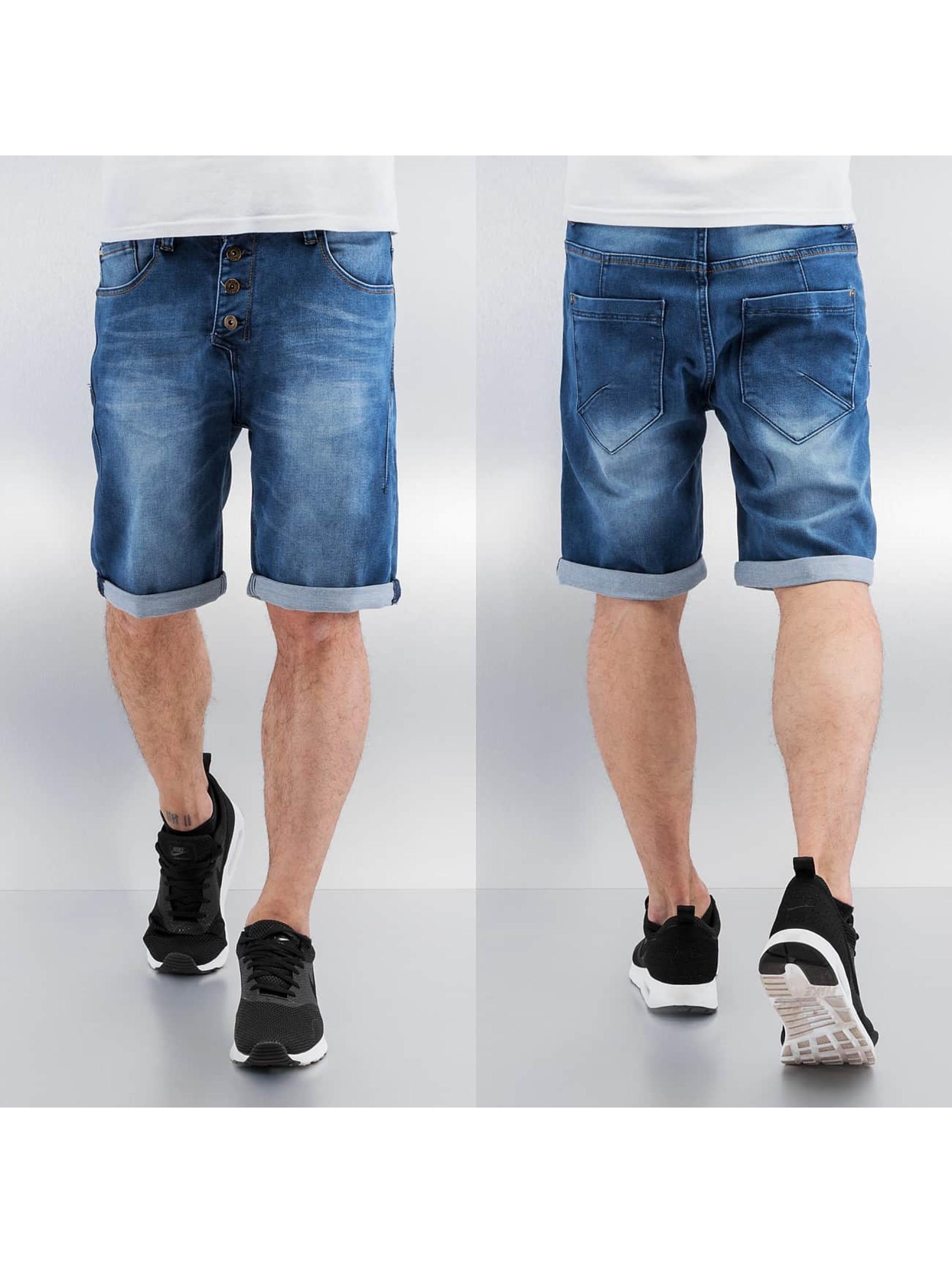 Sky Rebel Männer Shorts Elay in blau