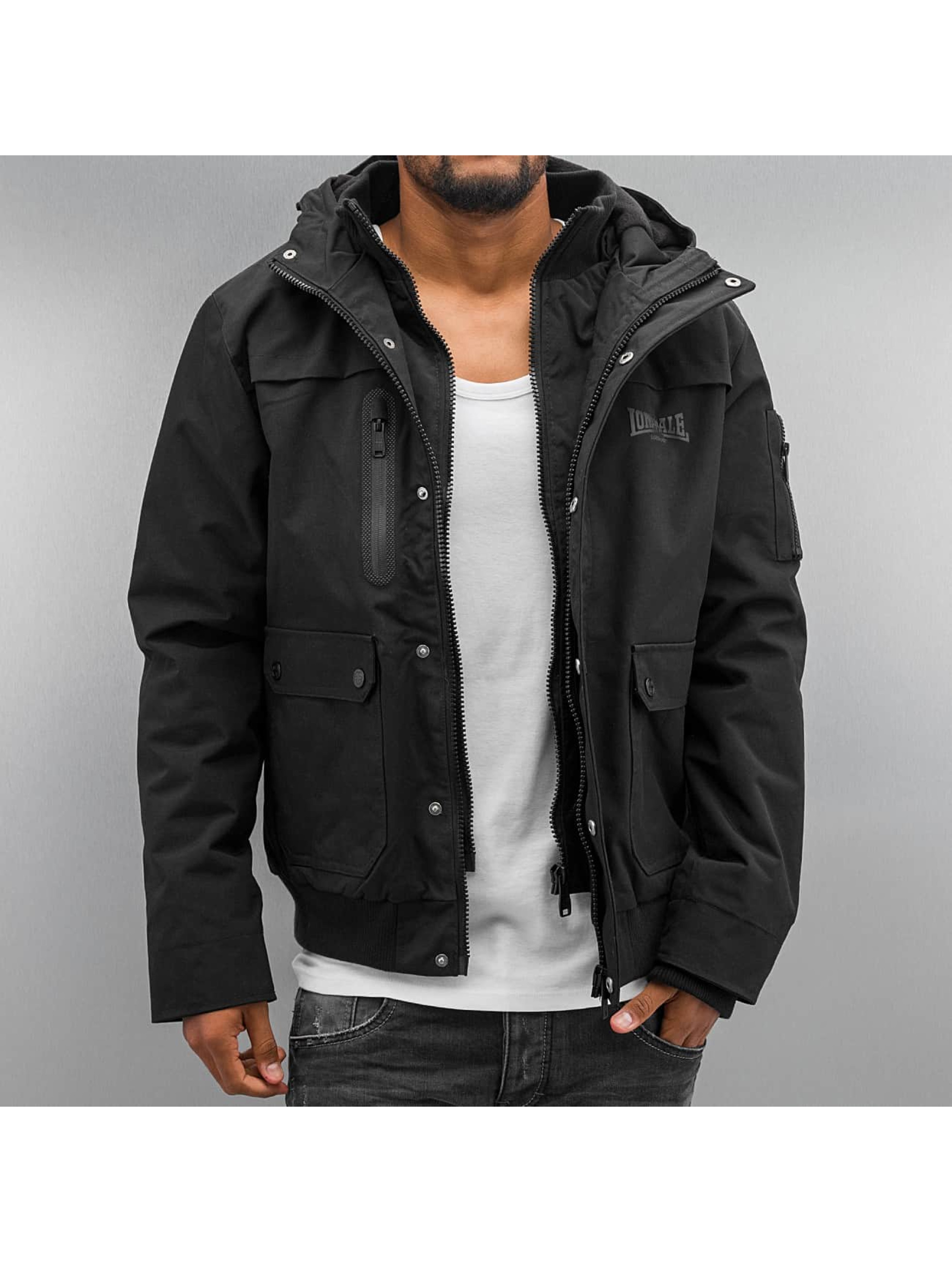 Lonsdale London Hillbrae Winter Jacket Black