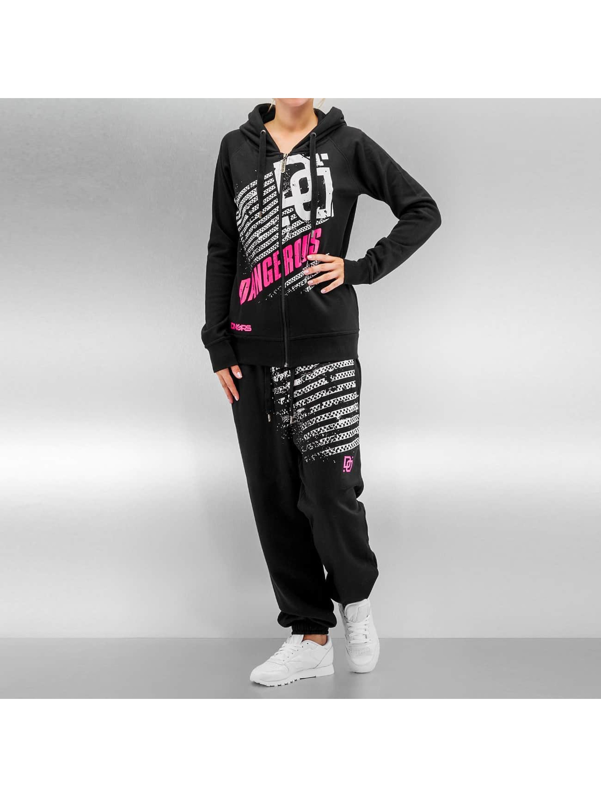 Dangerous DNGRS Oria Sweat Suit Black