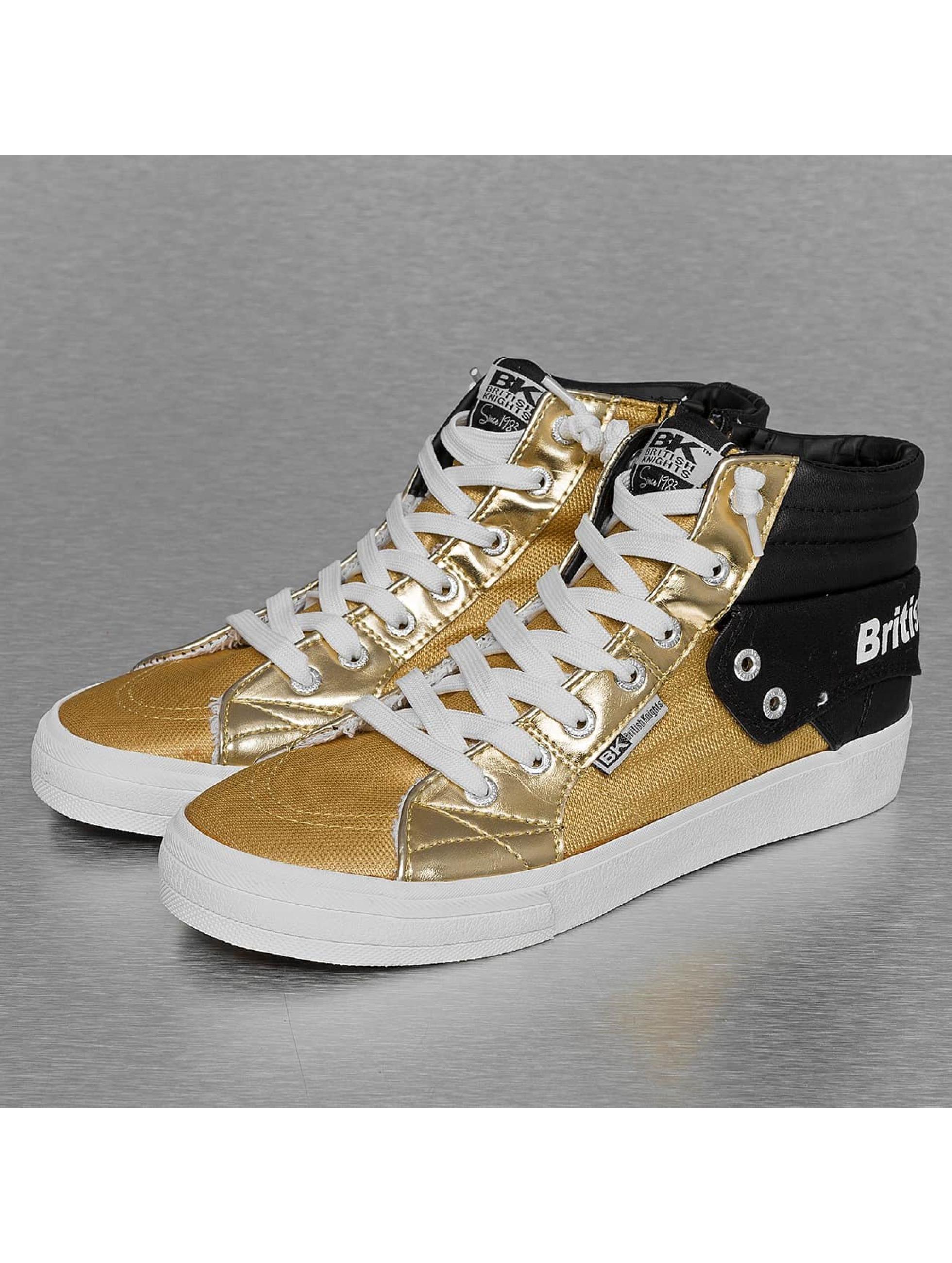 British Knights Frauen Sneaker Rigit Mesh PU in goldfarben