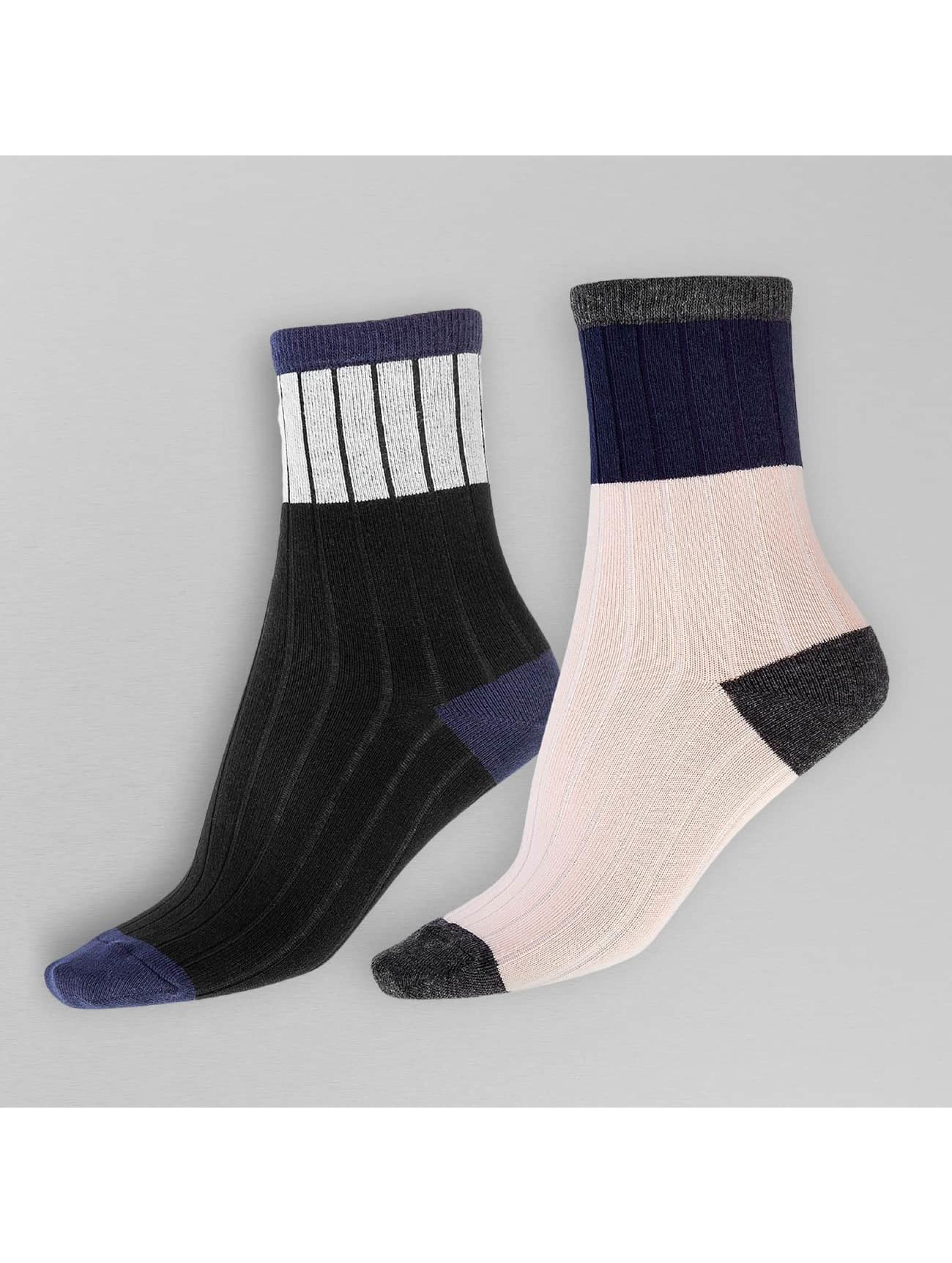 Pieces Frauen Socken pcPaca in schwarz