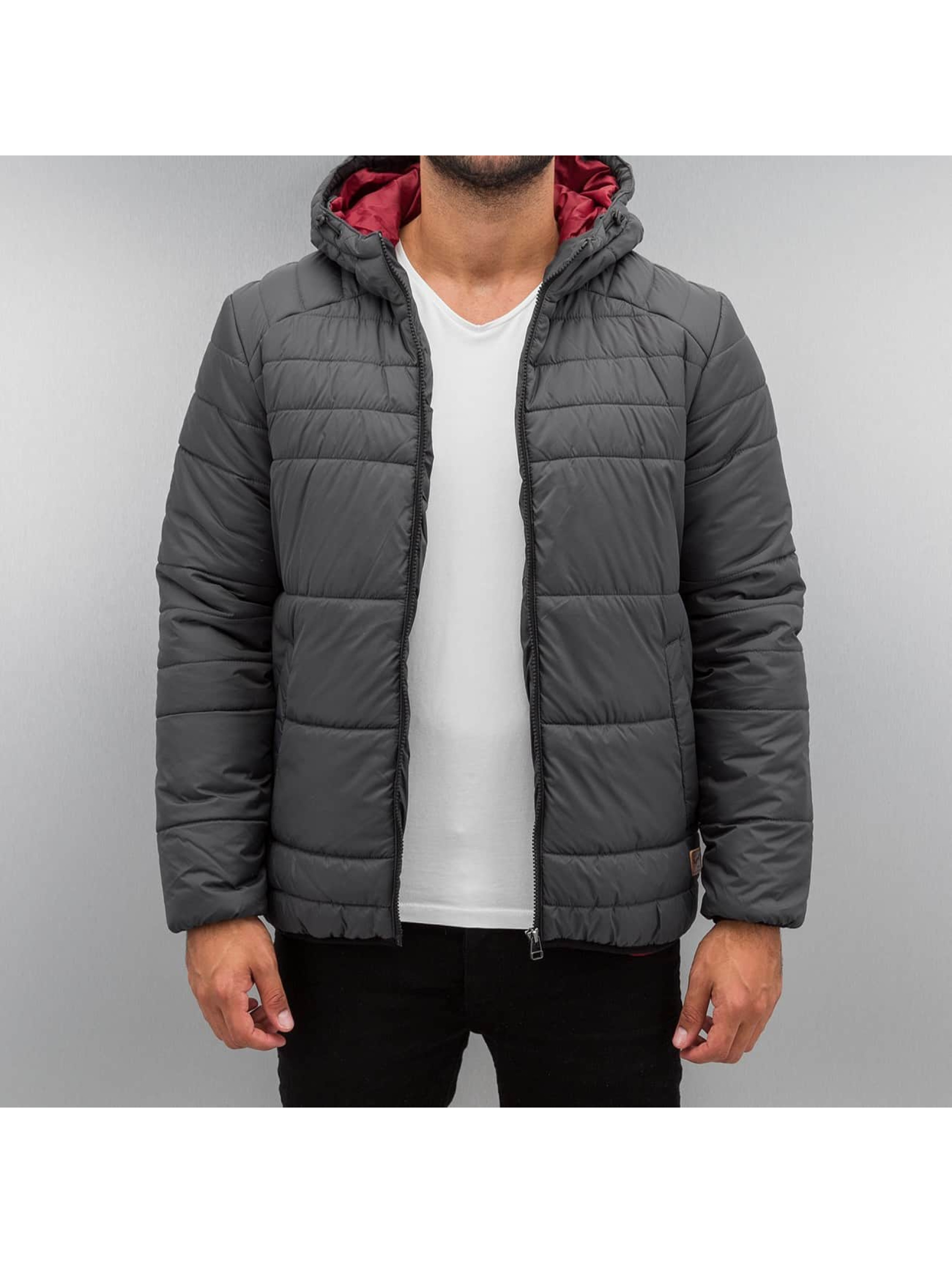 Jack Jones jorBoomer Puffer Jacket Asphalt Fit