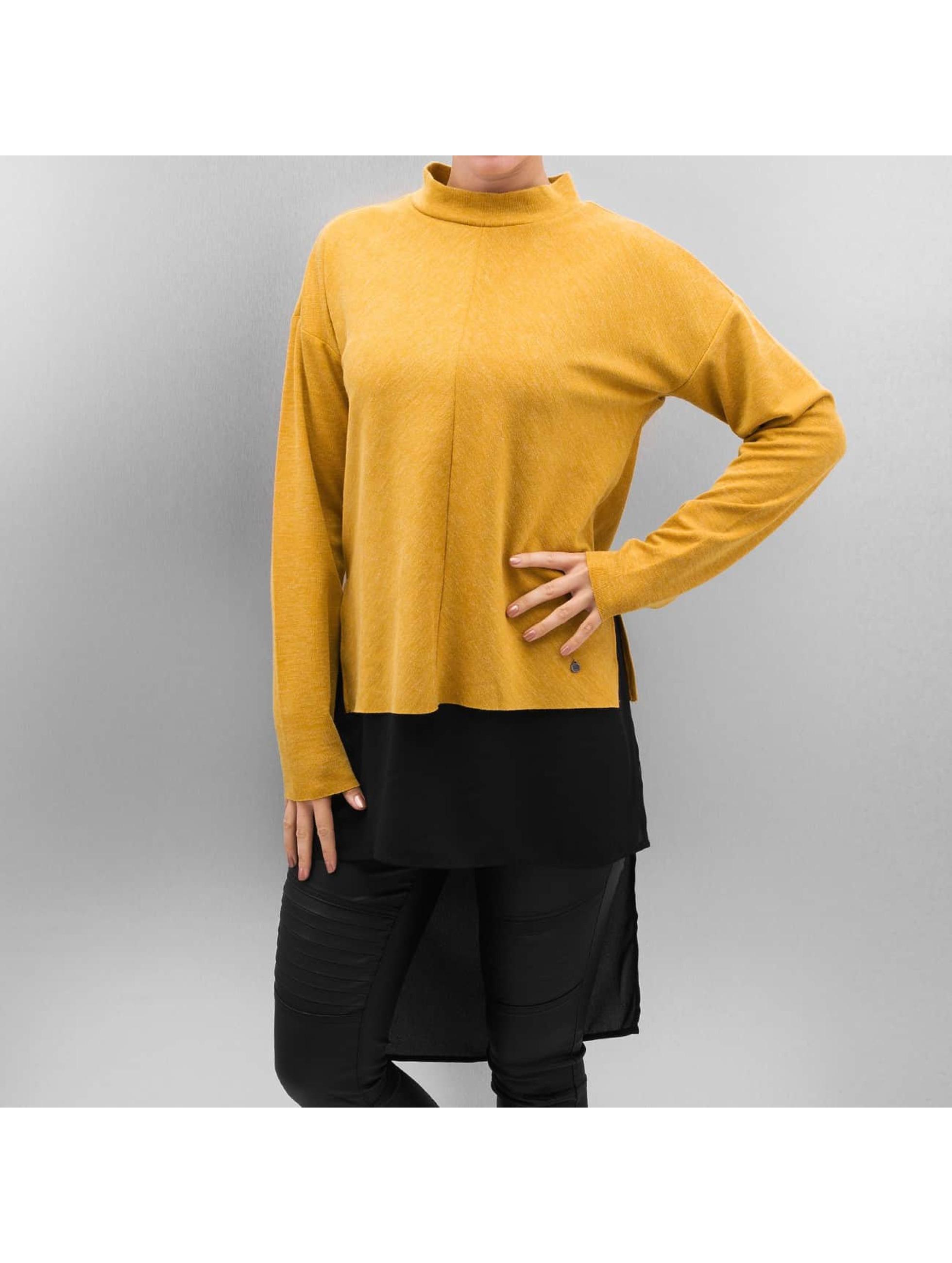 Vero Moda Frauen Pullover vmNora in goldfarben