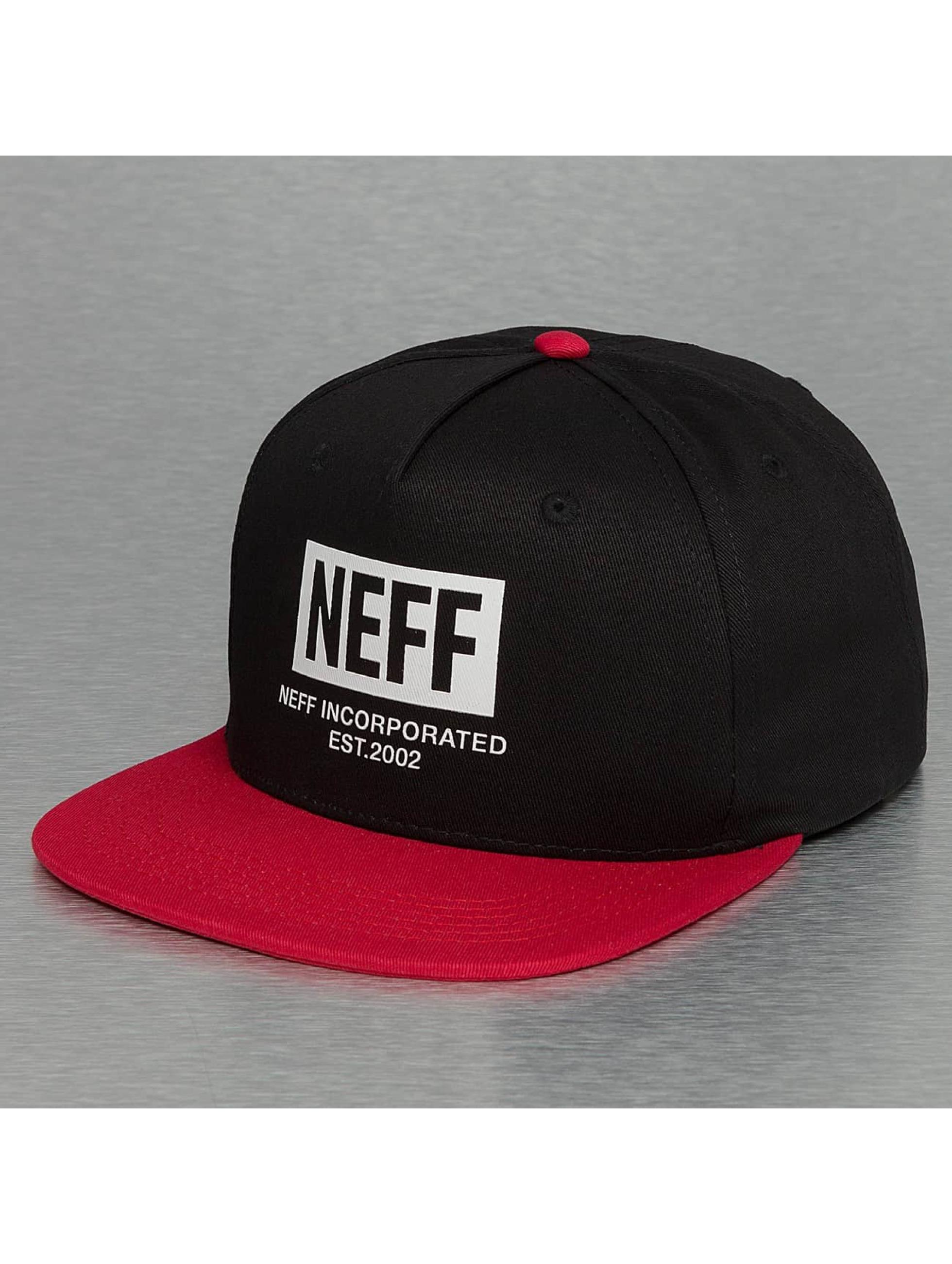 NEFF Männer,Frauen Snapback Cap New World in schwarz