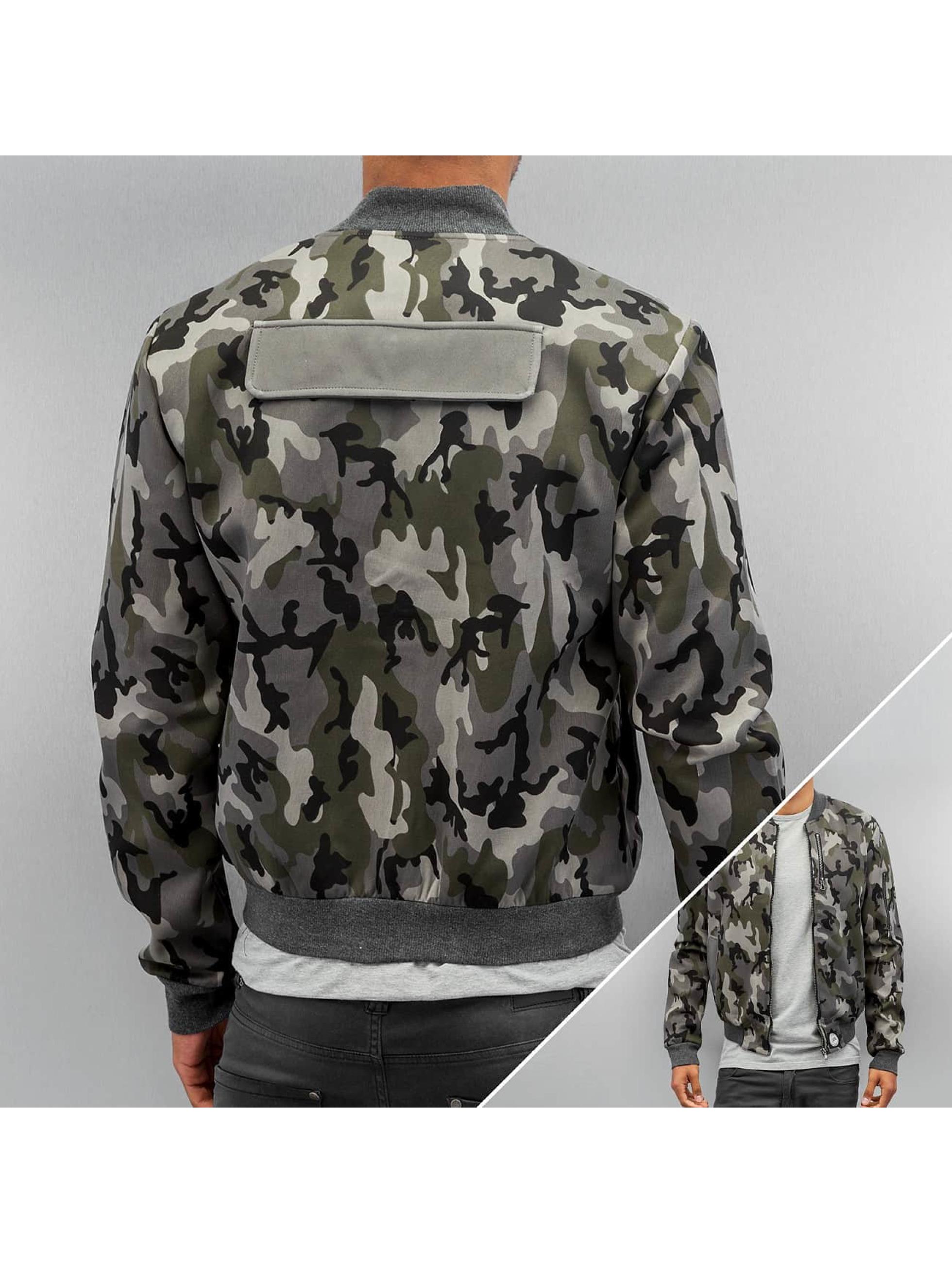 Sixth June Camou Bomber Jacket Camouflage