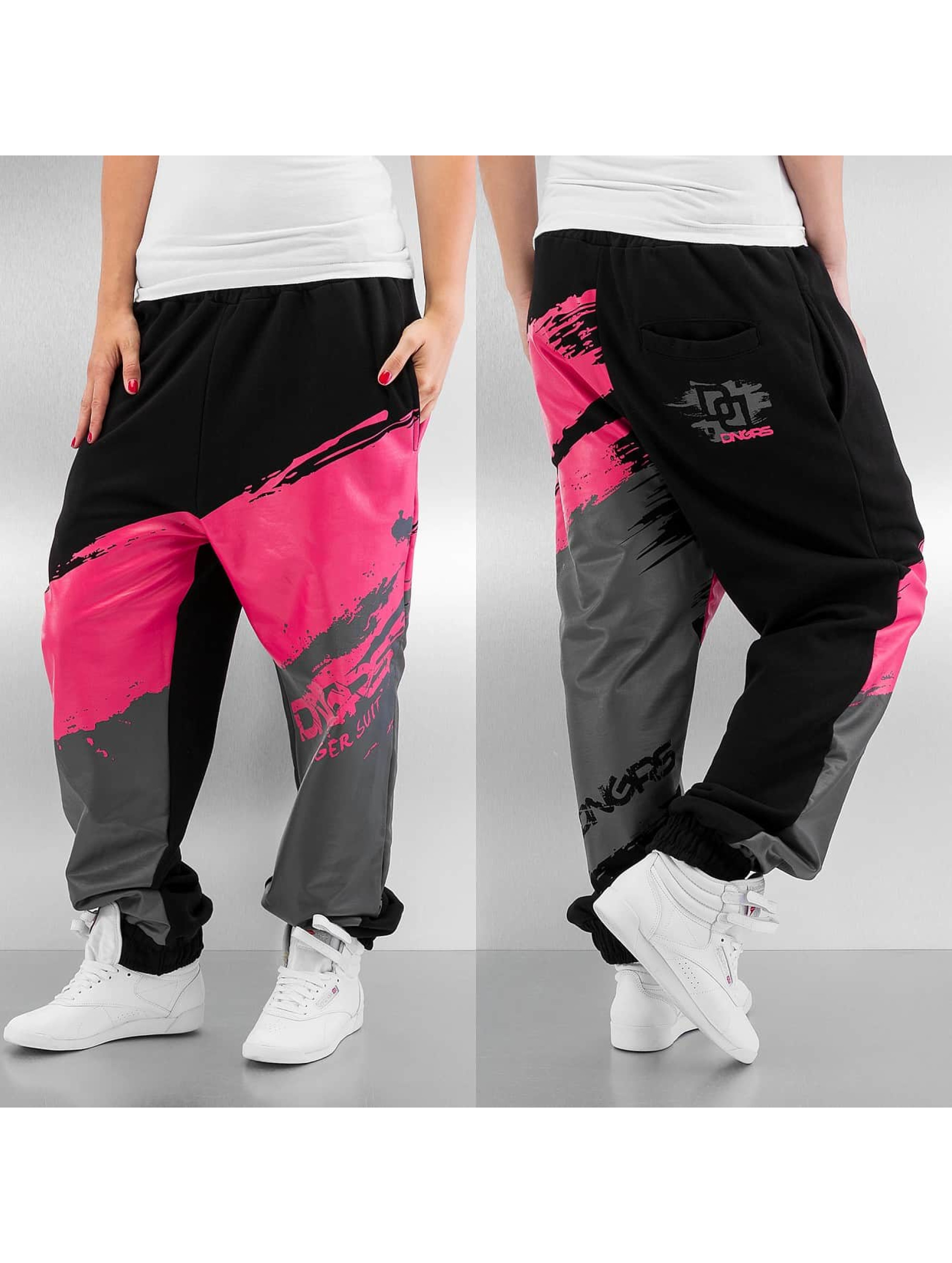 Dangerous DNGRS Anger Sweatpants Black