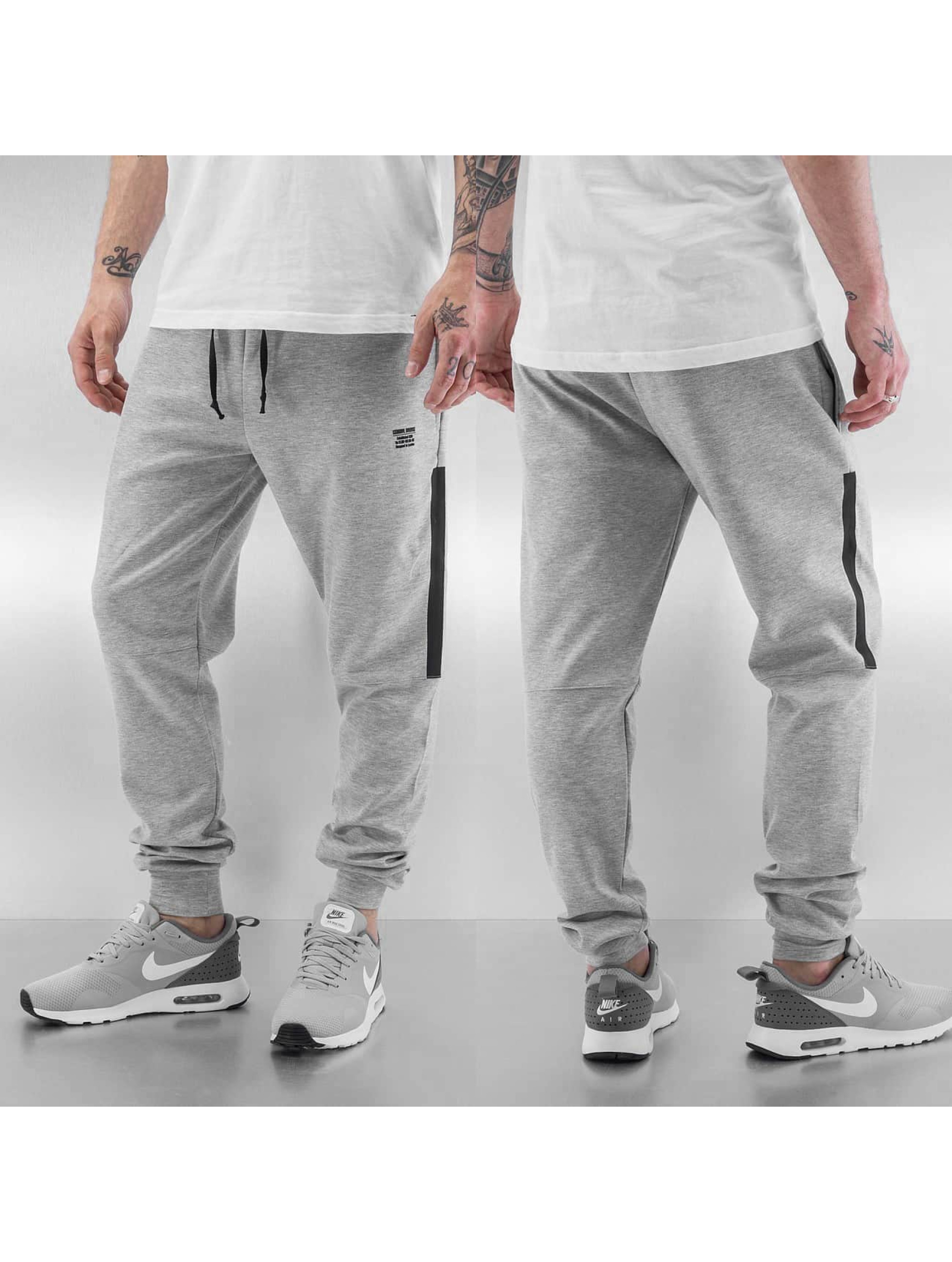 Criminal Damage Stand Sweatpants Grey Black