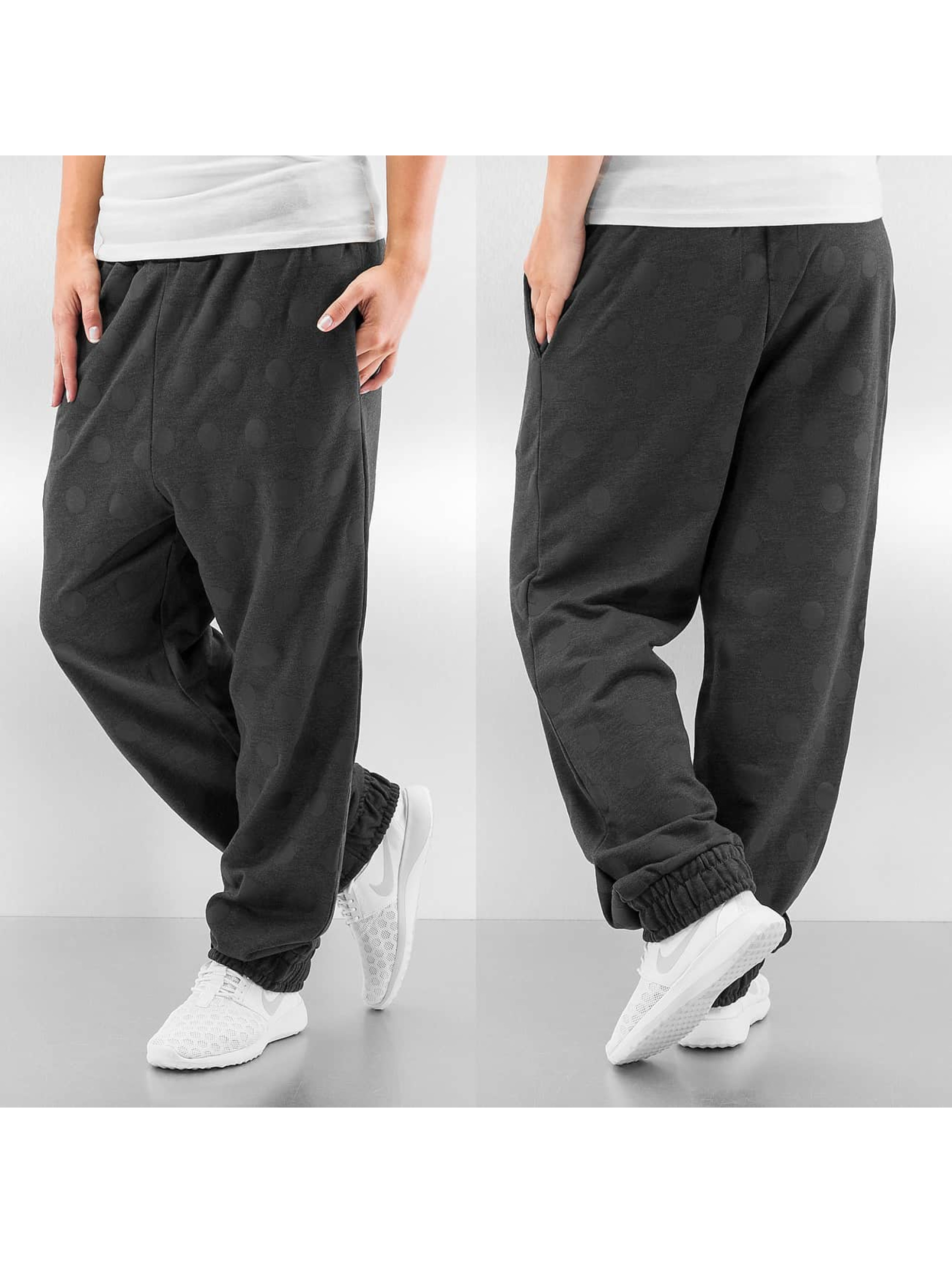 Just Rhyse Frauen Jogginghose Dots in grau