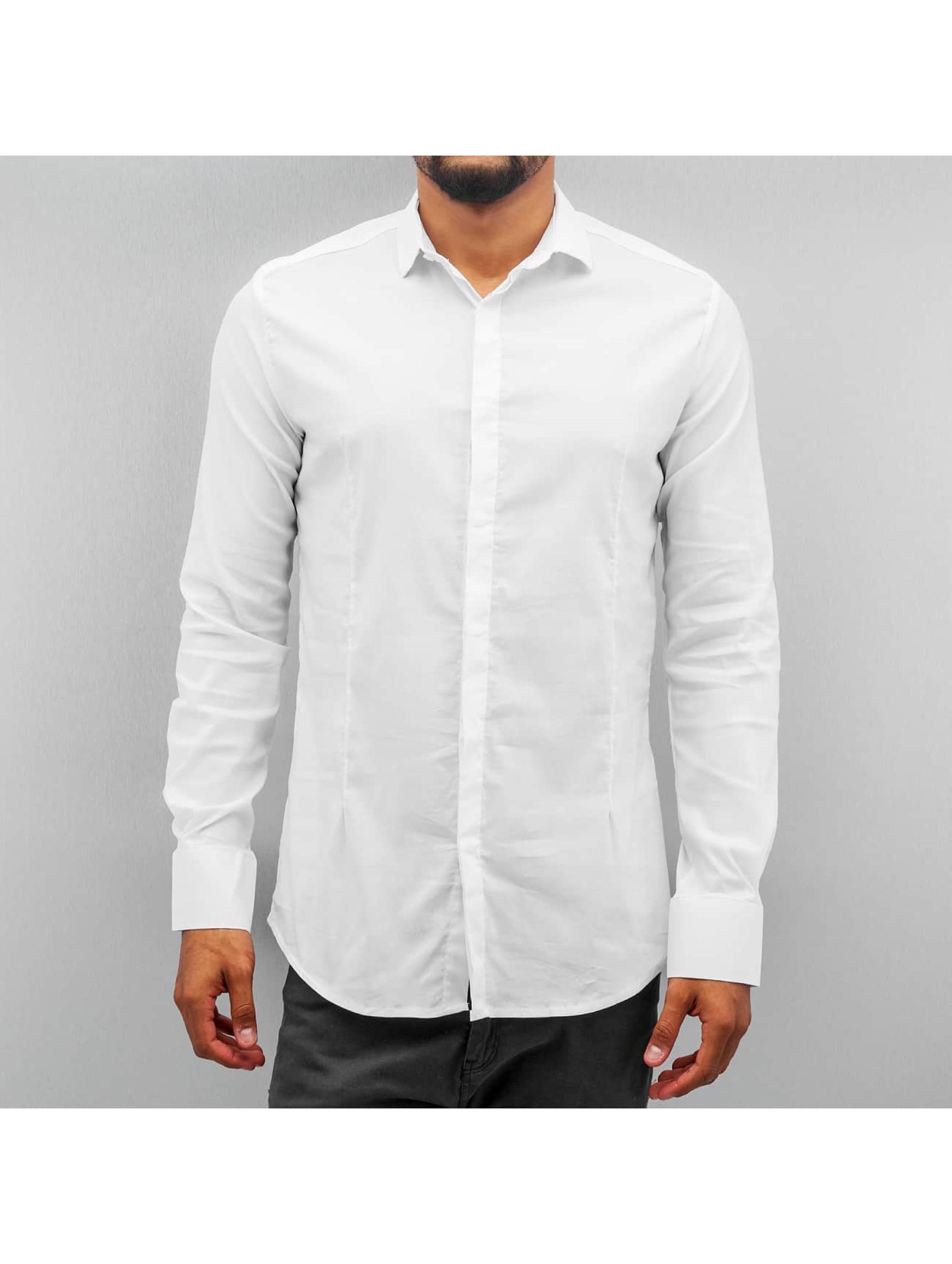 Open Männer Hemd Ante in weiß