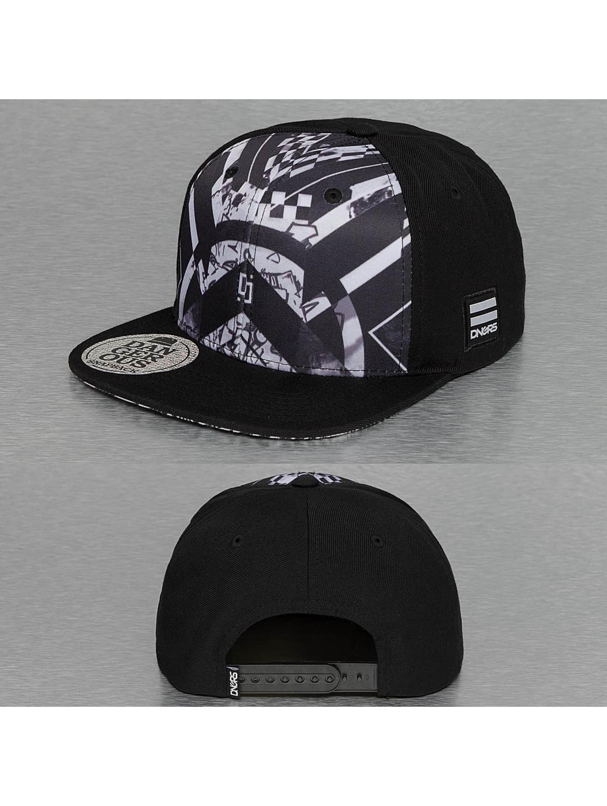Dangerous DNGRS / Snapback Cap Shadow in black one size