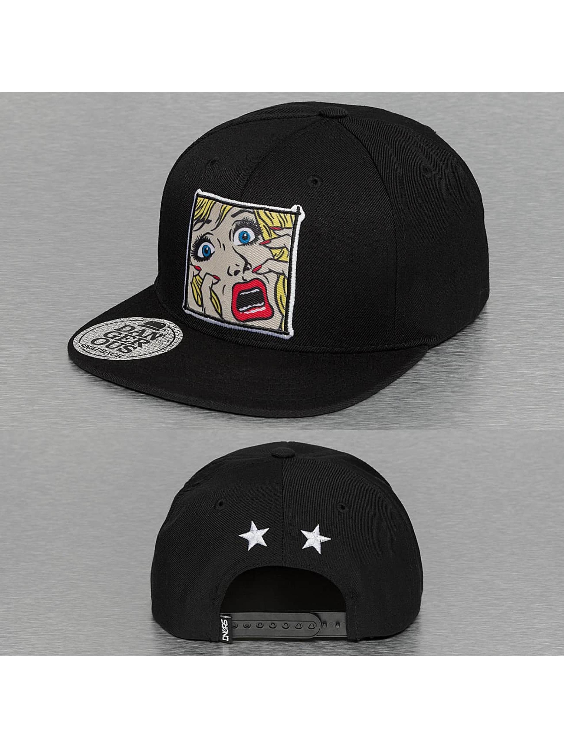 Dangerous DNGRS / Snapback Cap Danger in black one size