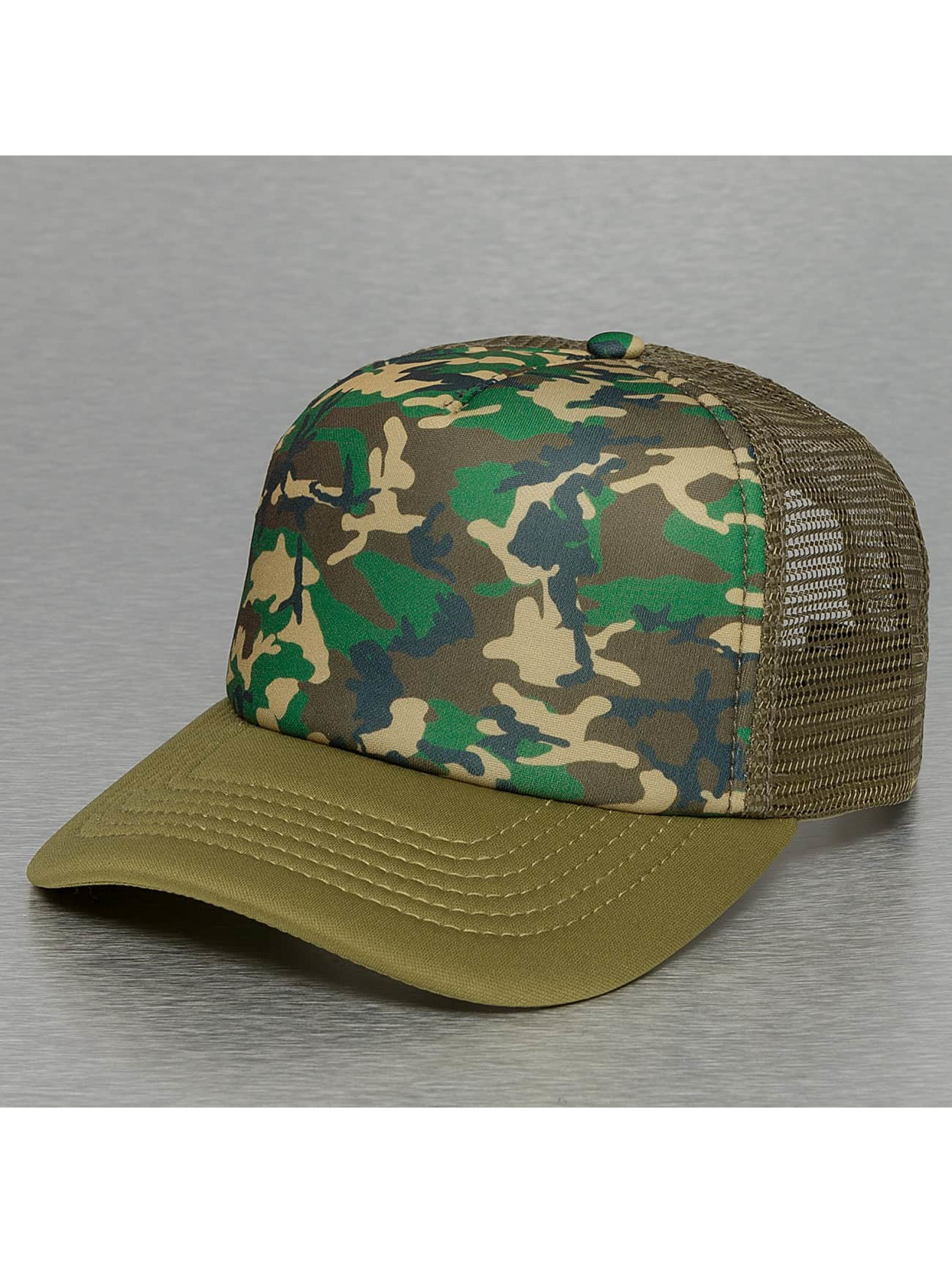 Cyprime / Trucker Cap Basic in camouflage