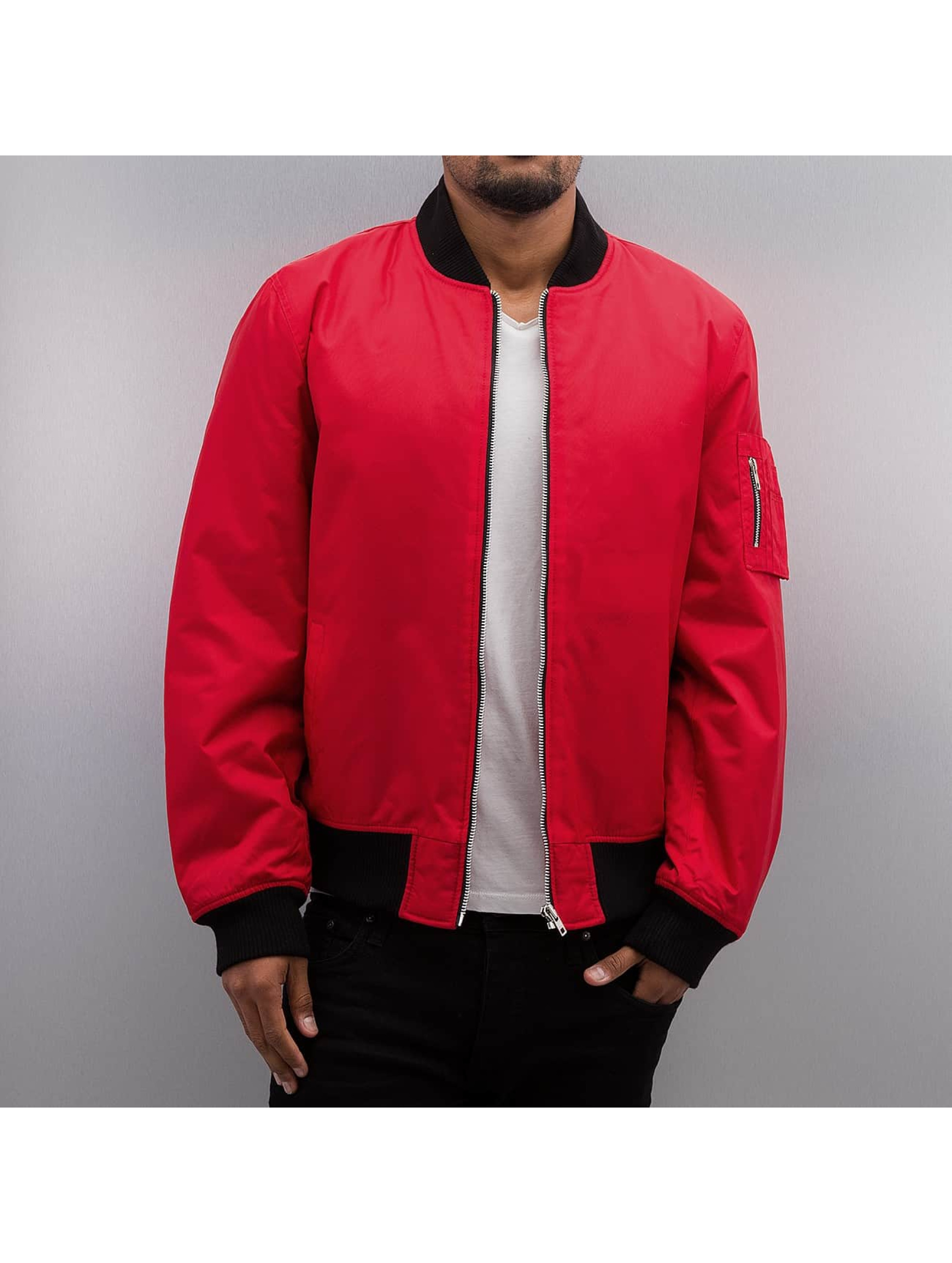 Dangerous DNGRS / Bomber jacket Classic in red XL