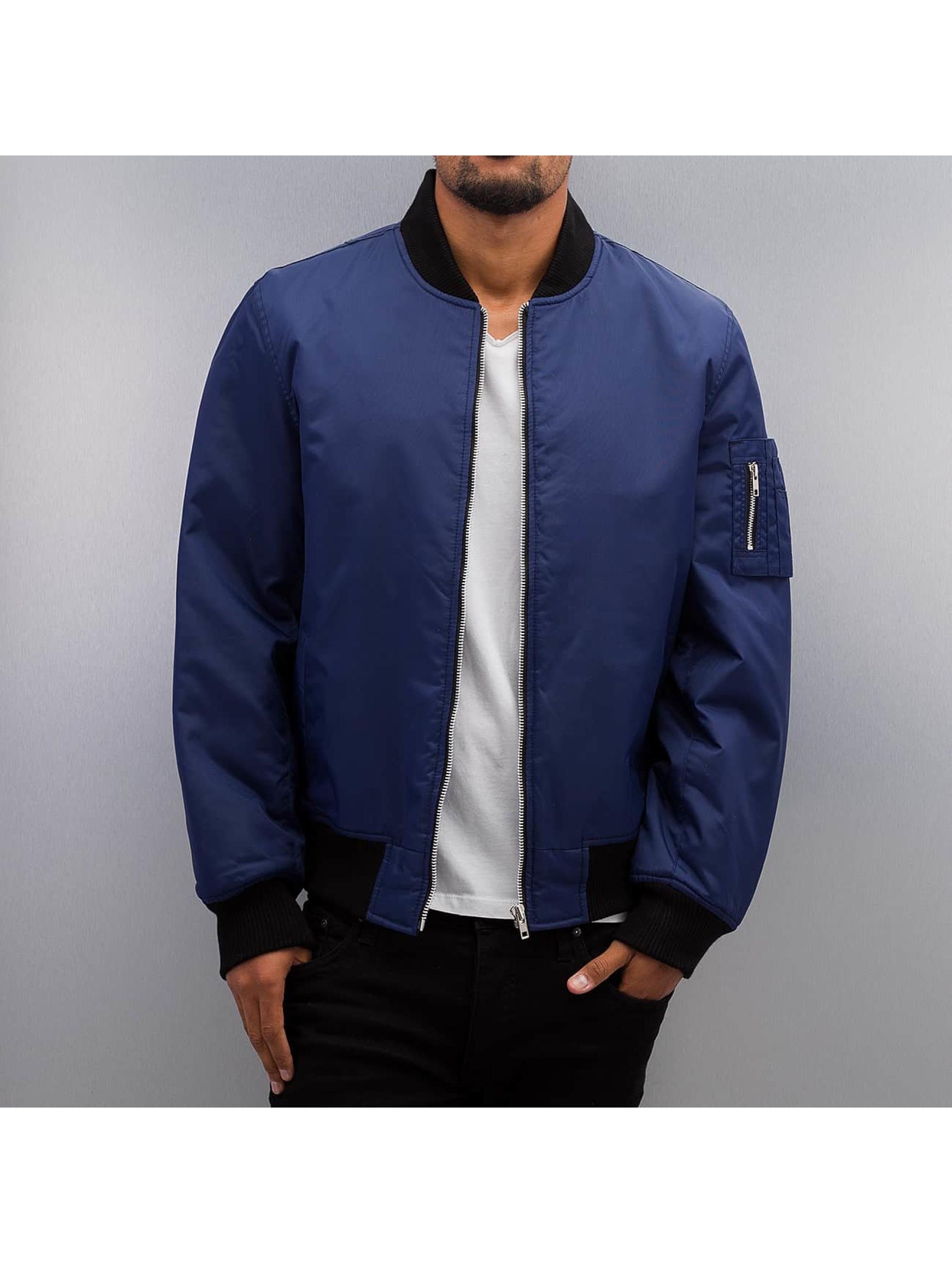 Dangerous DNGRS / Bomber jacket Classic in blue L