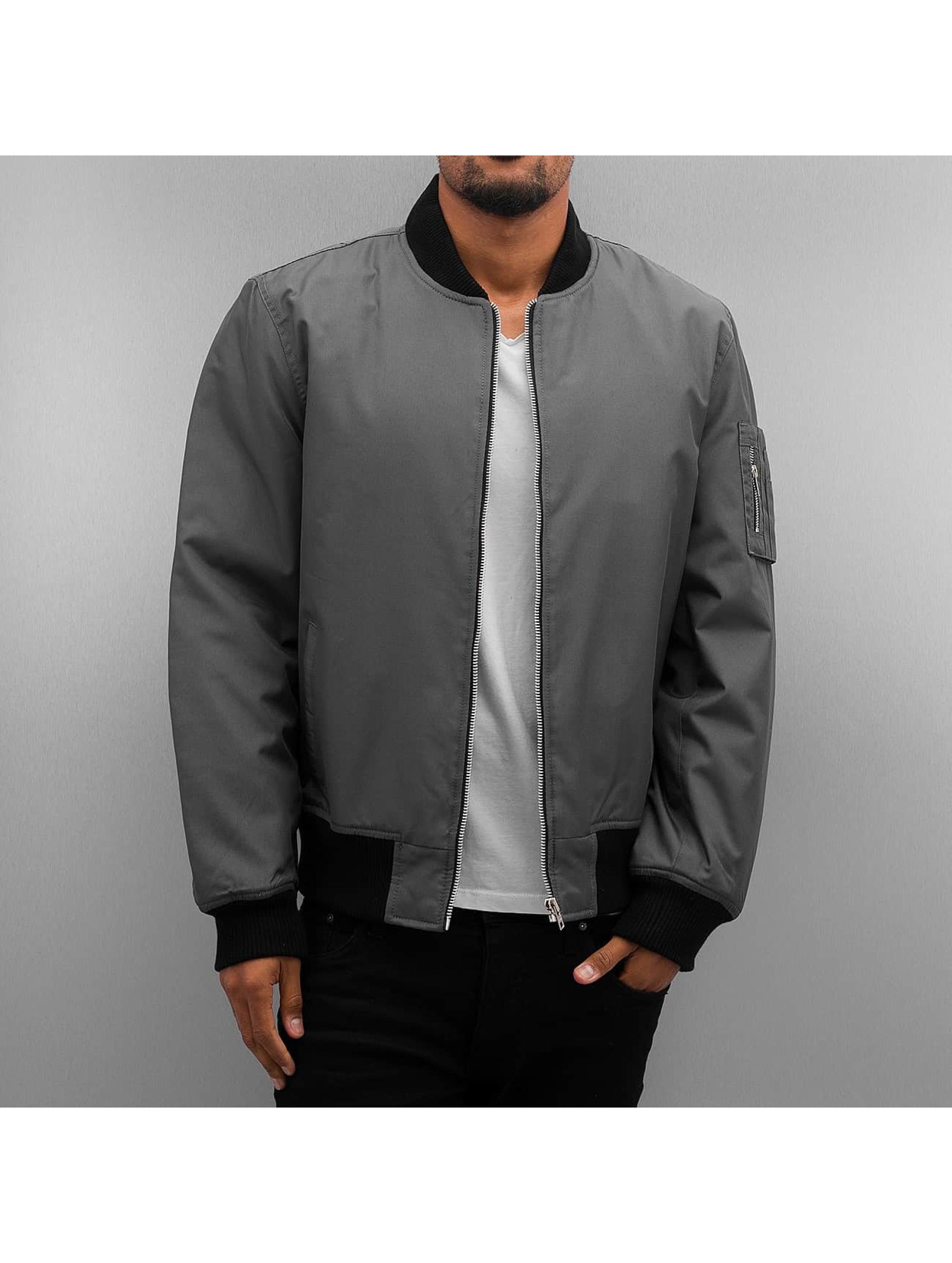 Dangerous DNGRS / Bomber jacket Classic in grey L