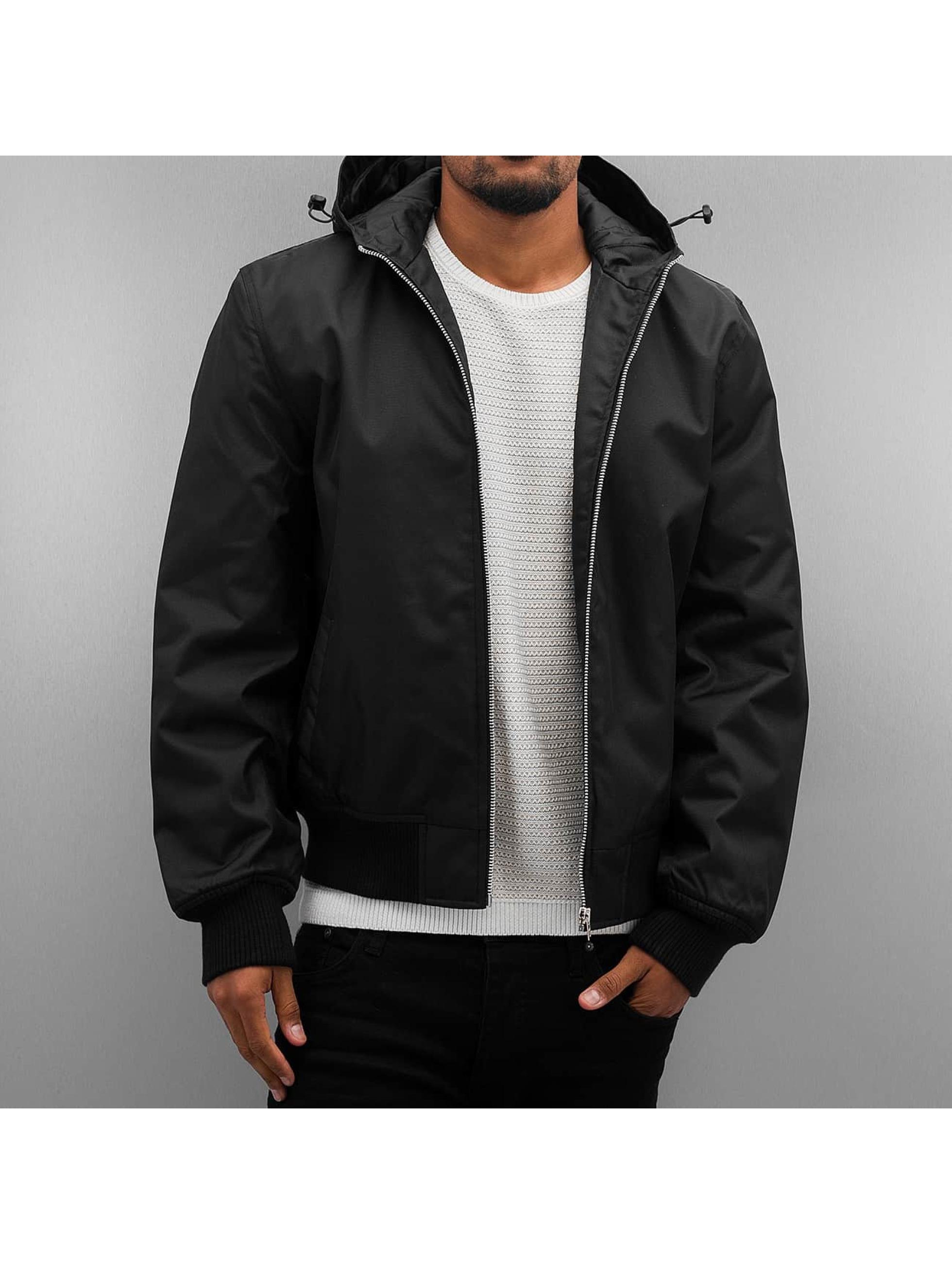 Dangerous DNGRS / Winter Jacket Hooded in black XL