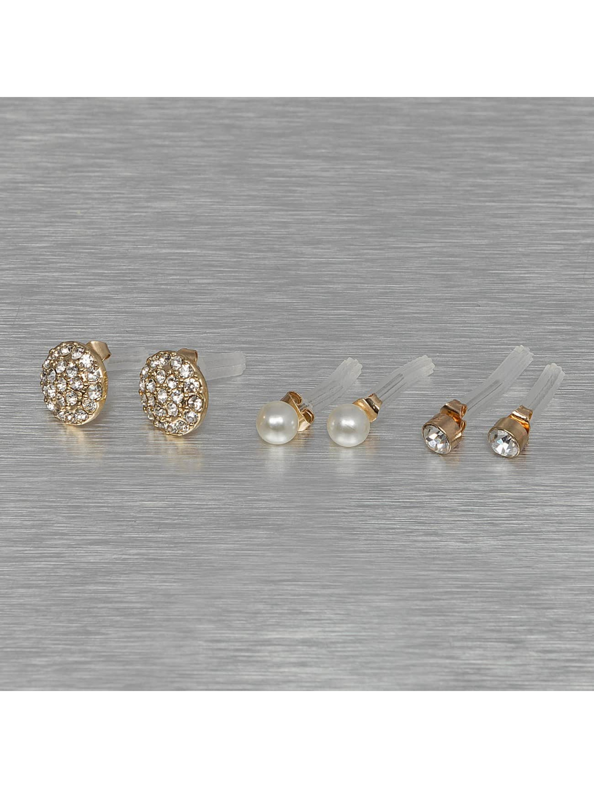 Pieces Frauen Ohrringe PCDiana Earstud in goldfarben
