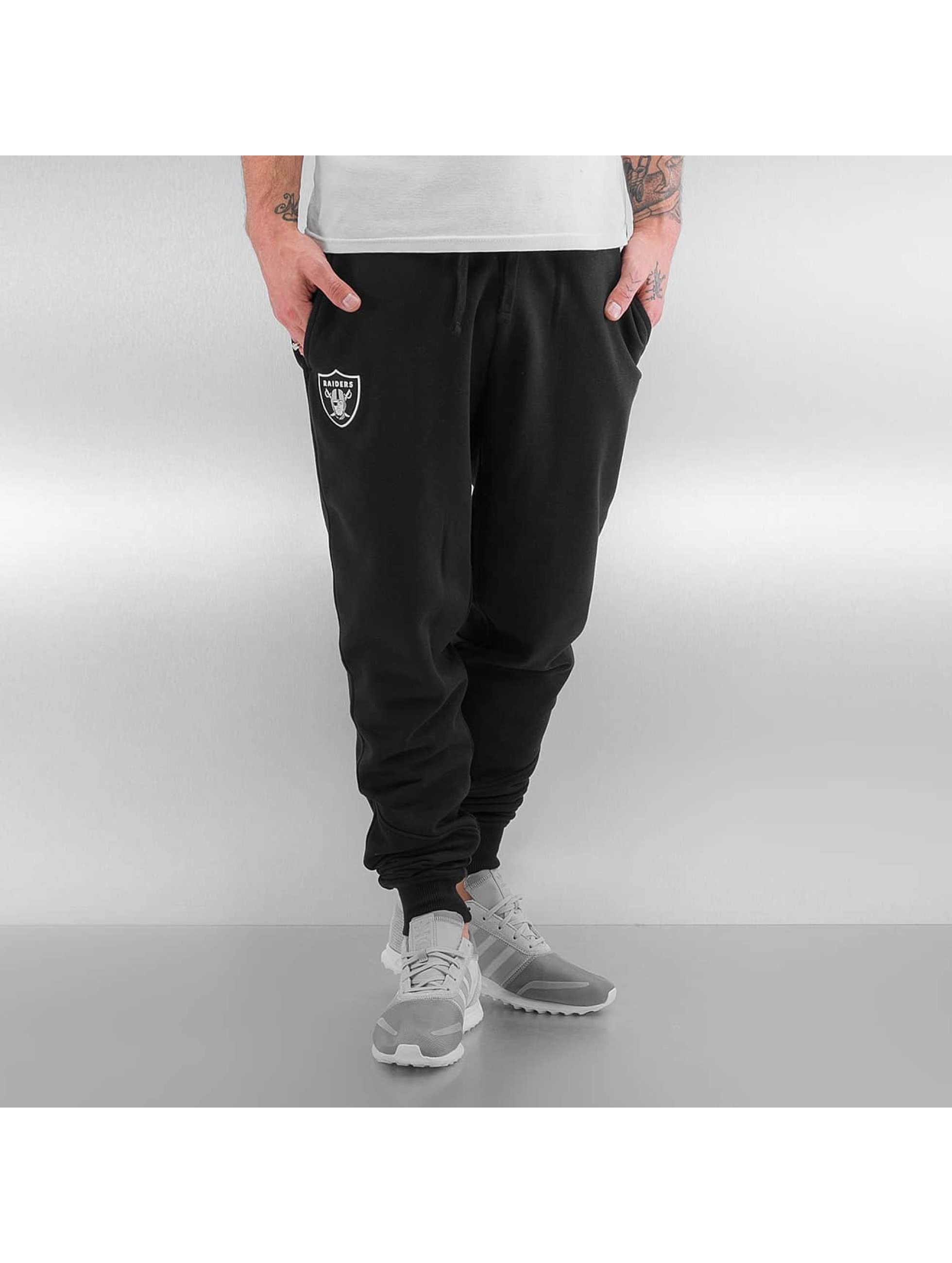 New Era Männer Jogginghose NFL Oakland Raiders in schwarz