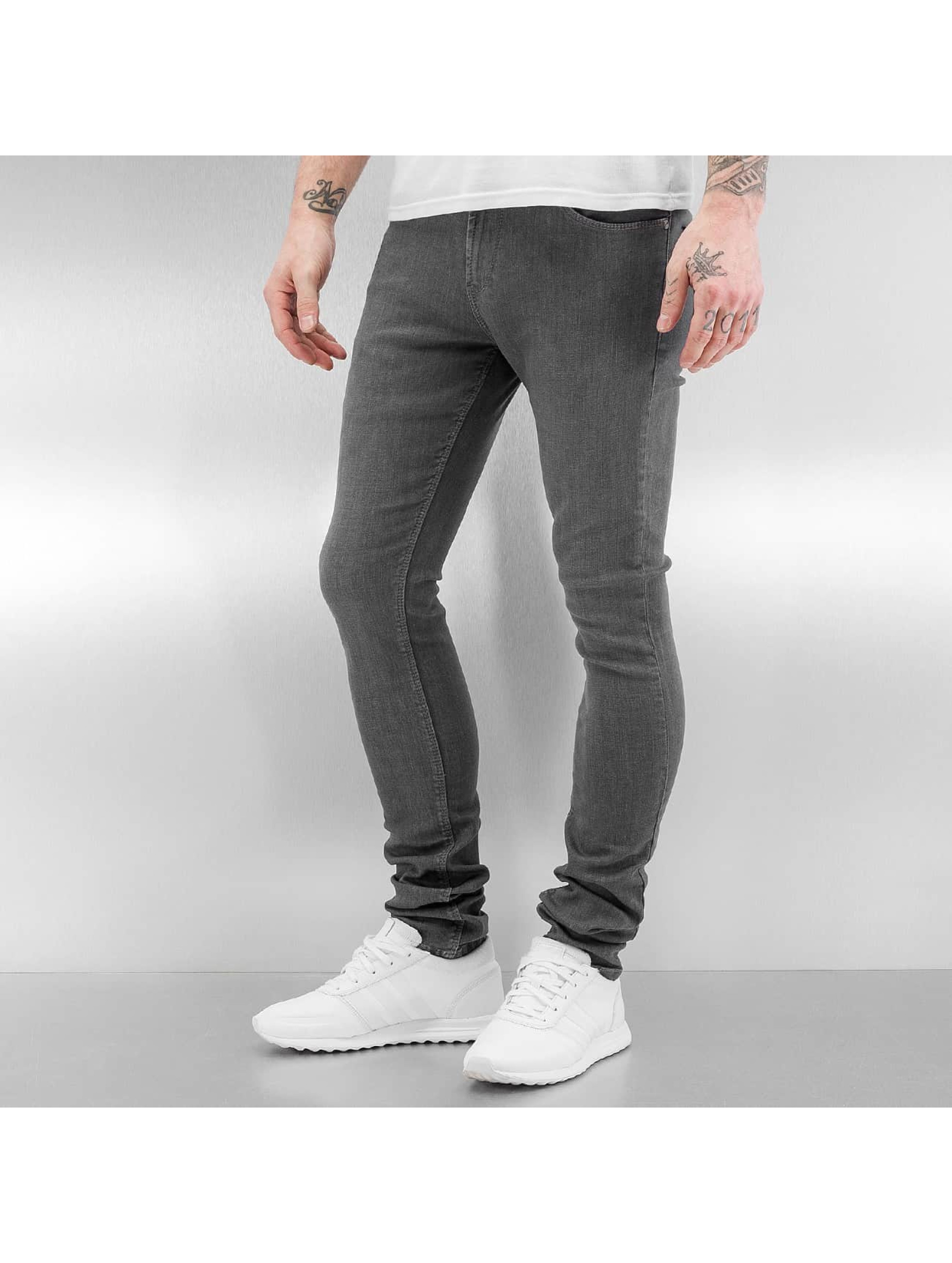 Reell Jeans Männer Skinny Jeans Radar Stretch Super Slim Fit in grau