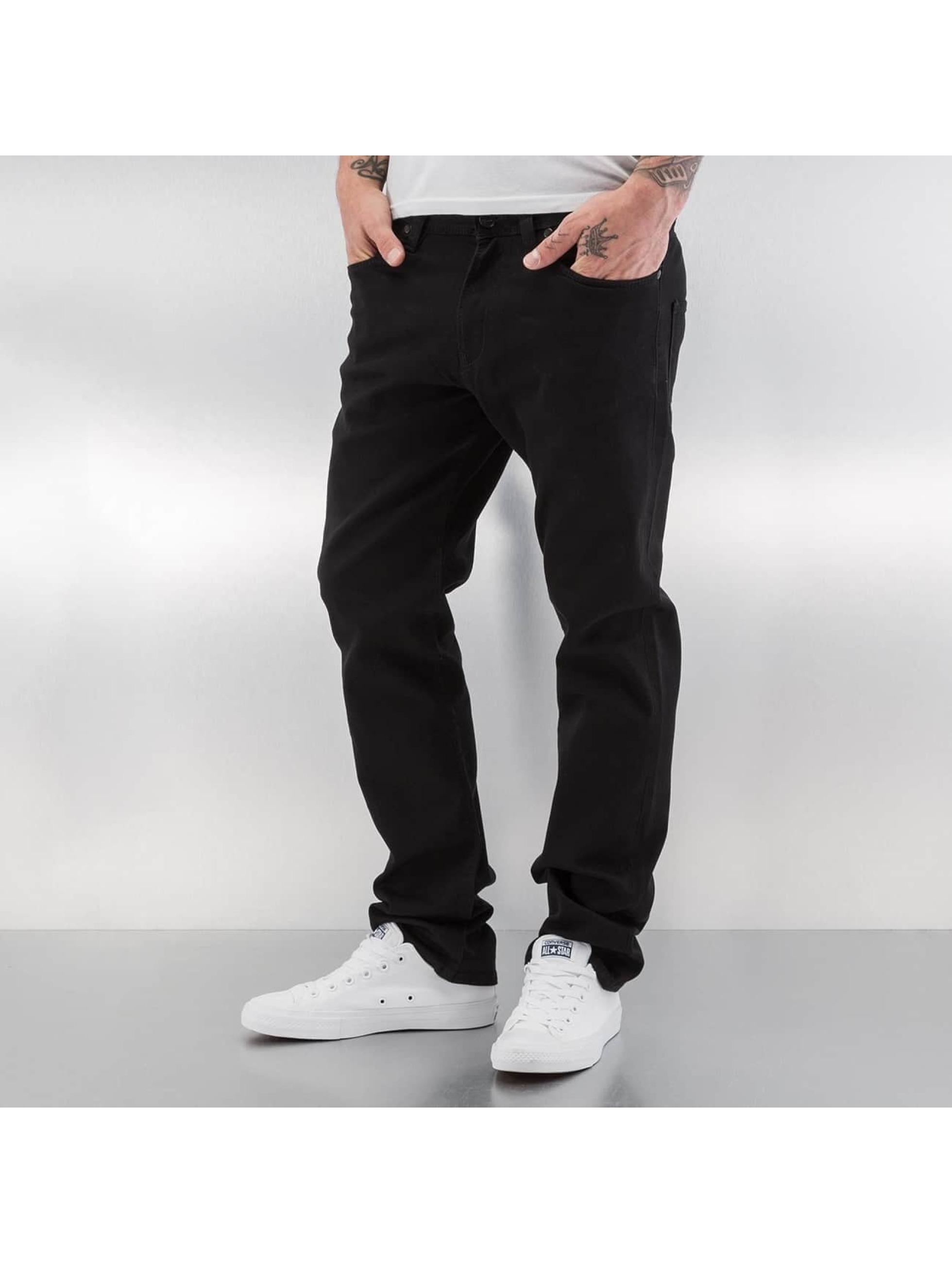 Reell Jeans Männer Straight Fit Jeans Razor II in schwarz