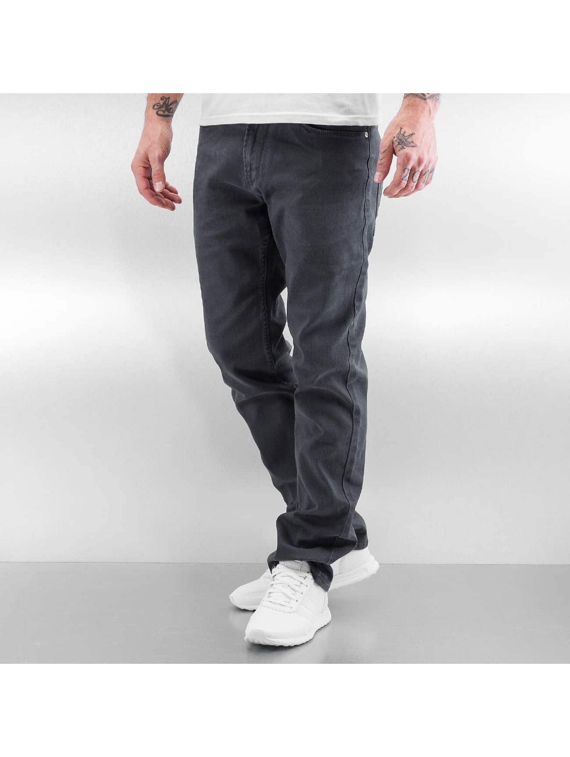 Reell Jeans Männer Straight Fit Jeans Razor II in grau