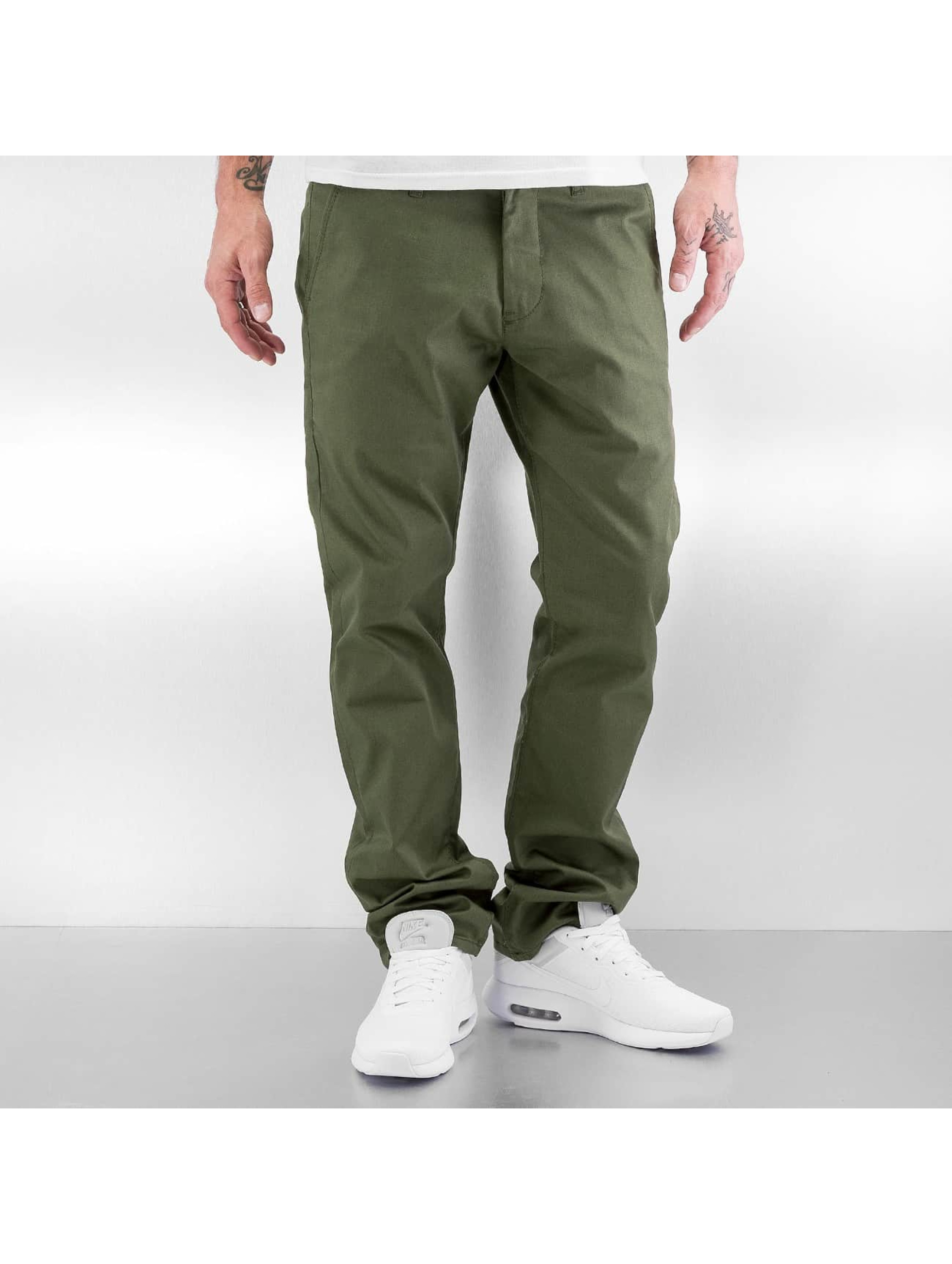 Reell Jeans Männer Chino Straight Flex in olive