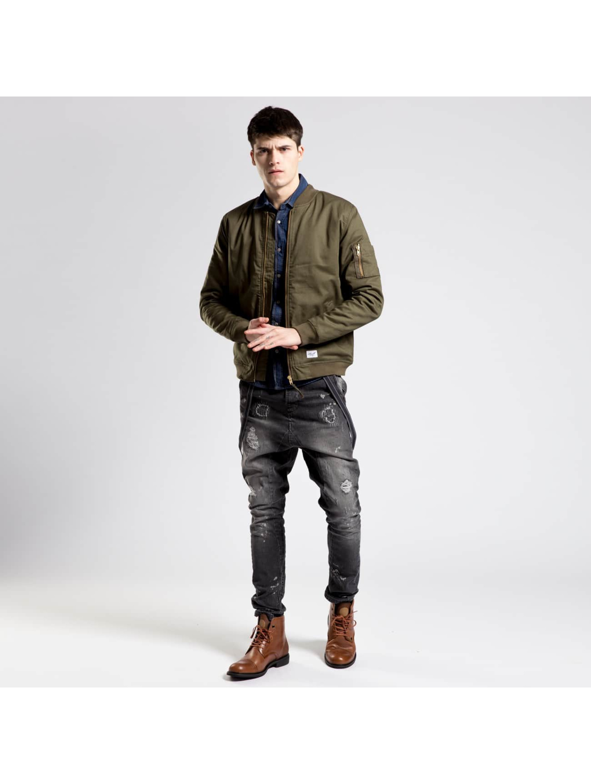 Reell Jeans Bomber Padded Flight olive