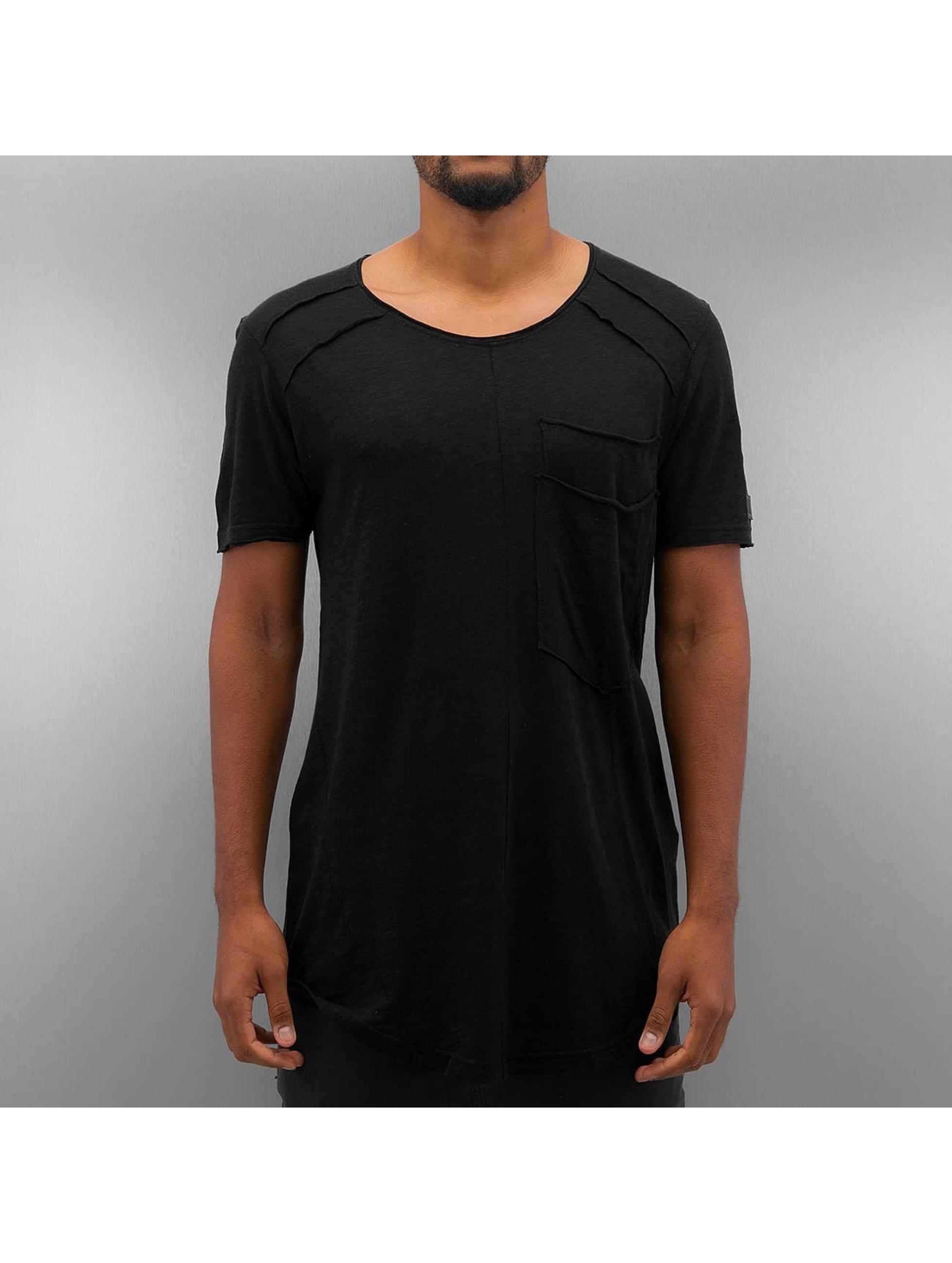 Black Kaviar Männer T-Shirt Kaleb in schwarz
