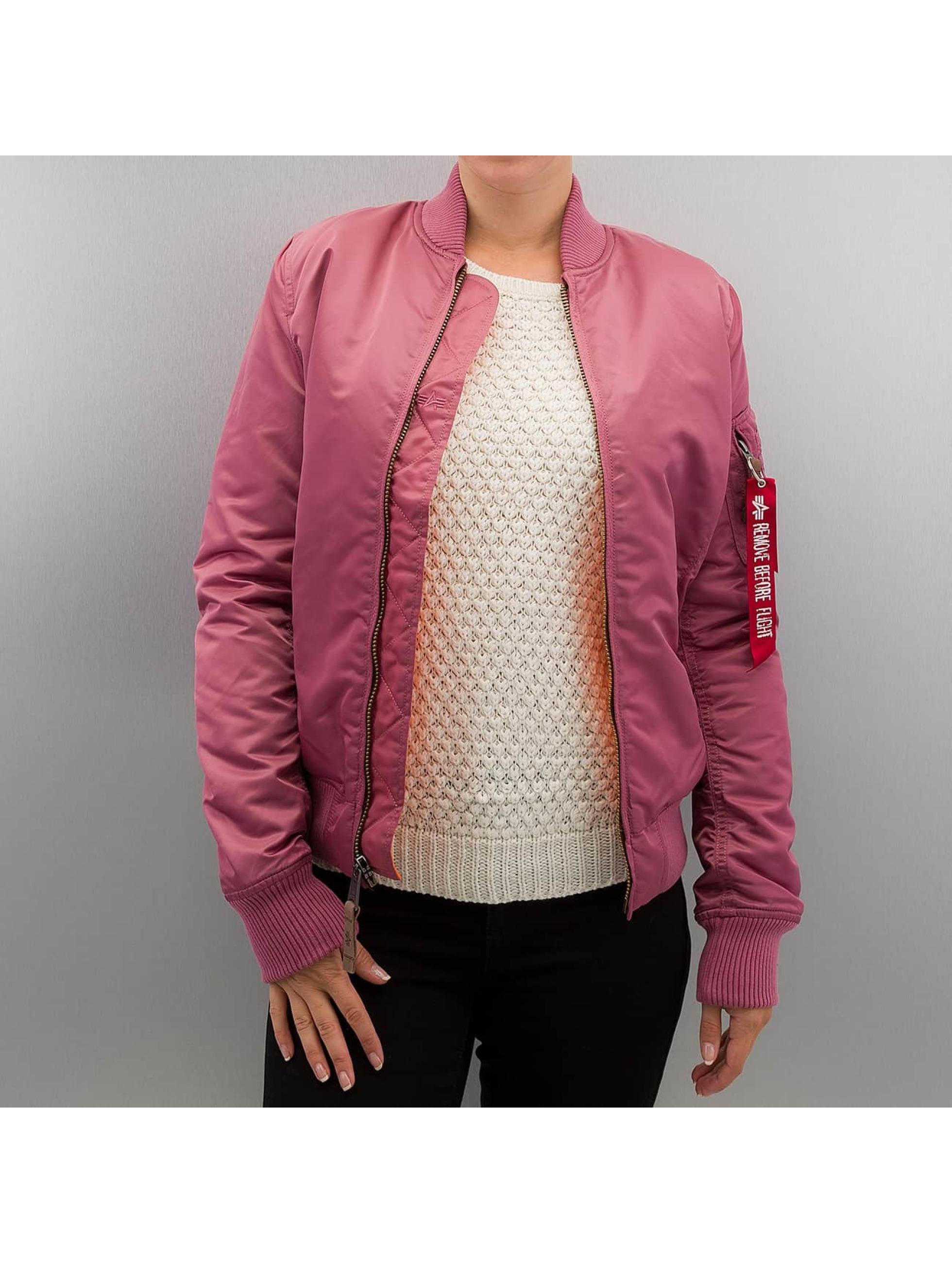 Alpha Industries Frauen Bomberjacke Ma 1 VF 59 in pink